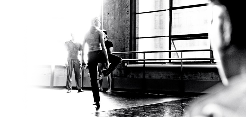 "Adele in rehearsal for Liz Gerring's ""She Dreams in Code"""