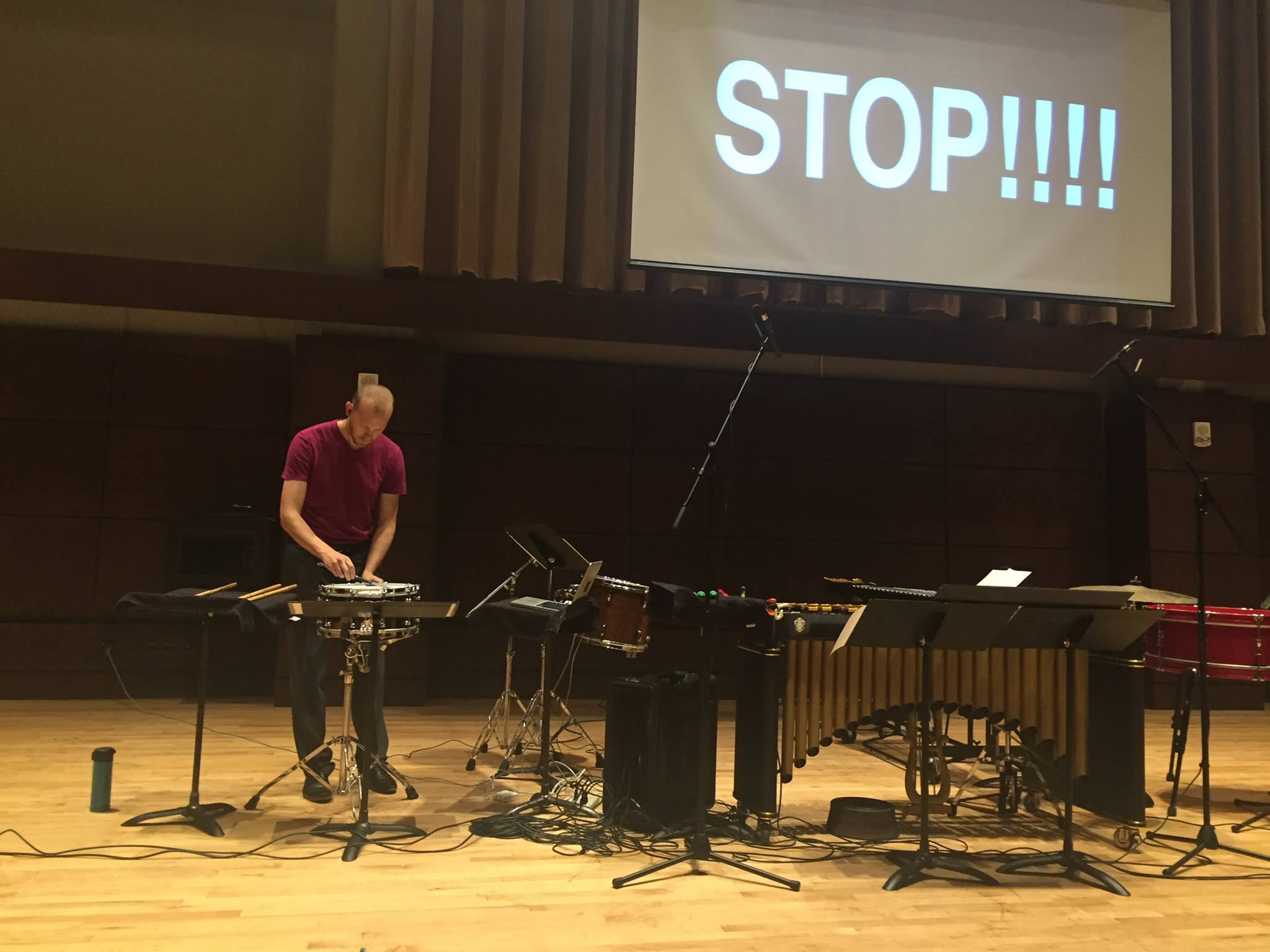 Stop Speaking by Andy Akiho at OCU