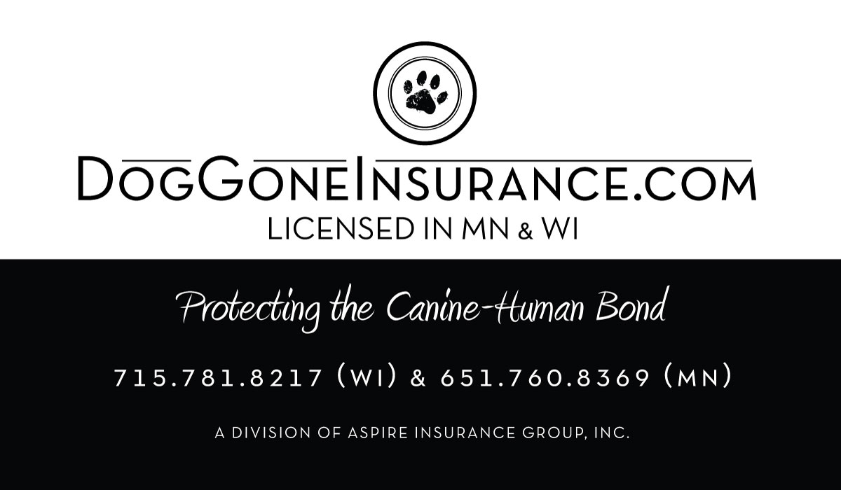 DogGoneInsurance.com Business Card (side 2 of Aspire)