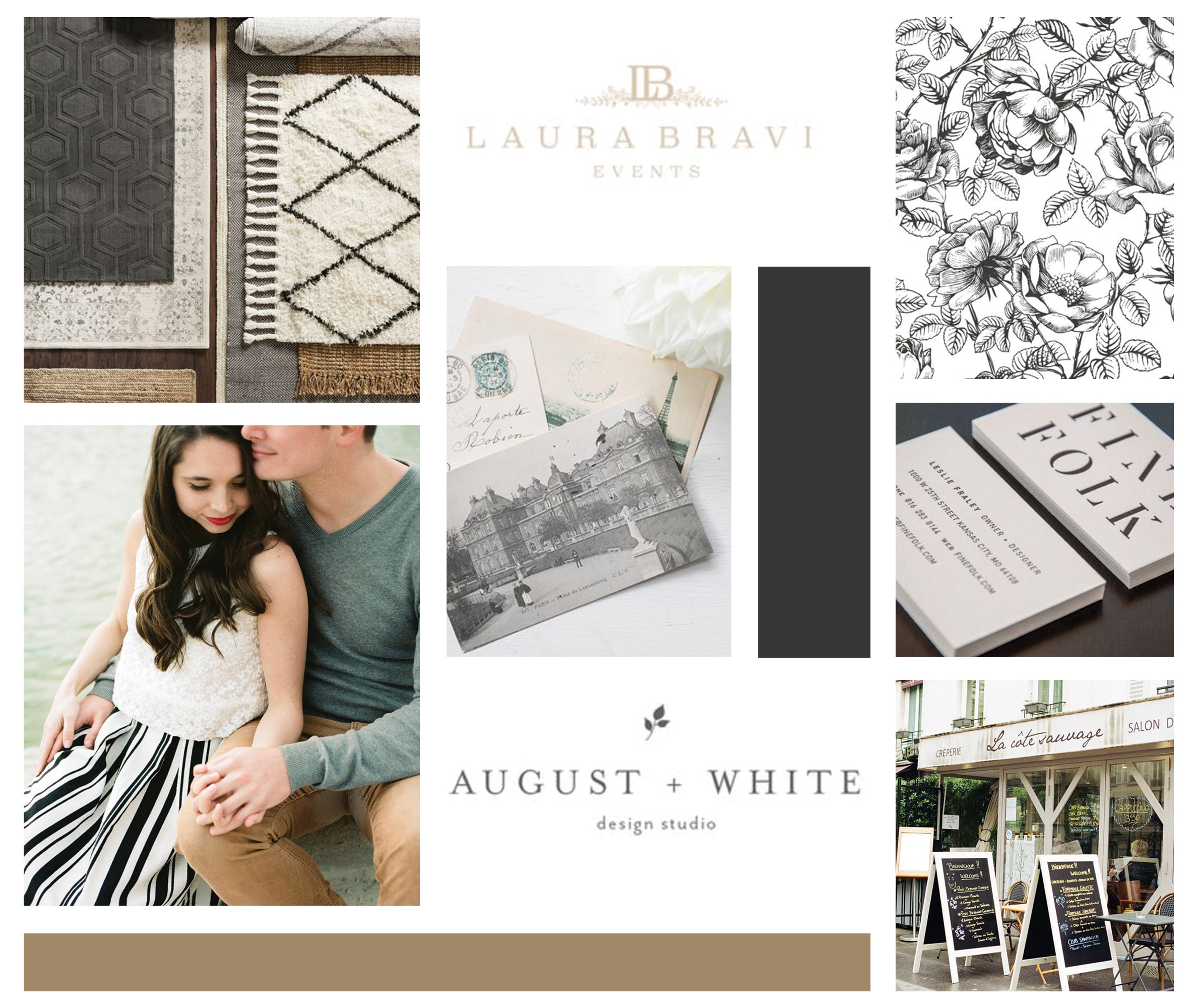 Jessica Lynn Tucker Photography – timeless wedding photographer – Hayley Bigham Designs – Tulsa Oklahoma Branding Studio – floral badge logo - moodboard