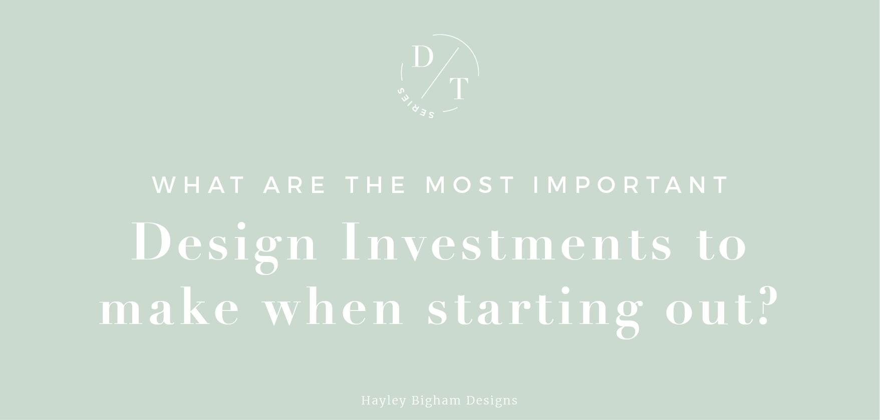 Hayley Bigham Designs-Most important graphic design investements-brand foundation-logo design-branding-online presence-business cards
