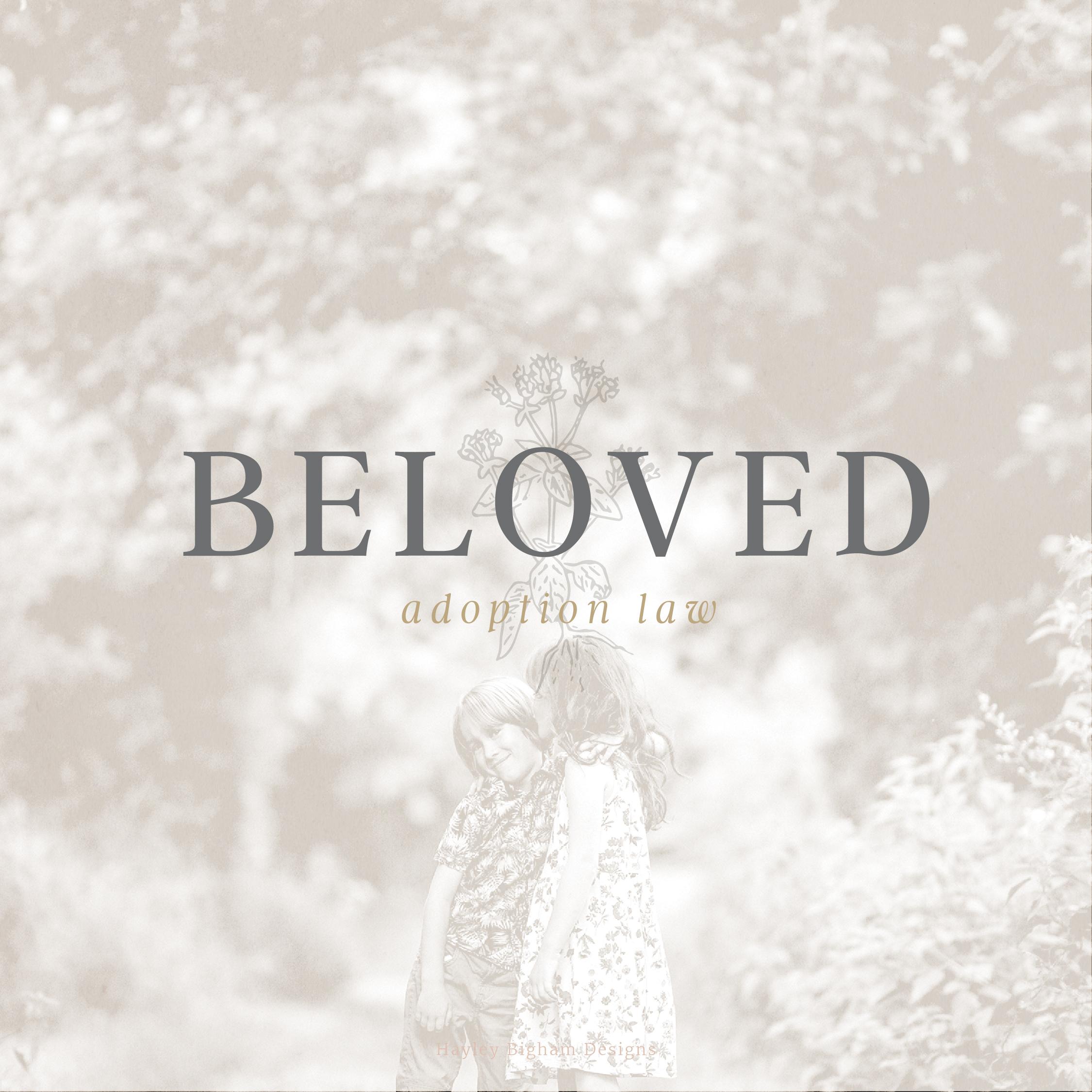 hayley bigham designs-tulsa graphic designer-Beloved Adoption Law-moodboard-logo design