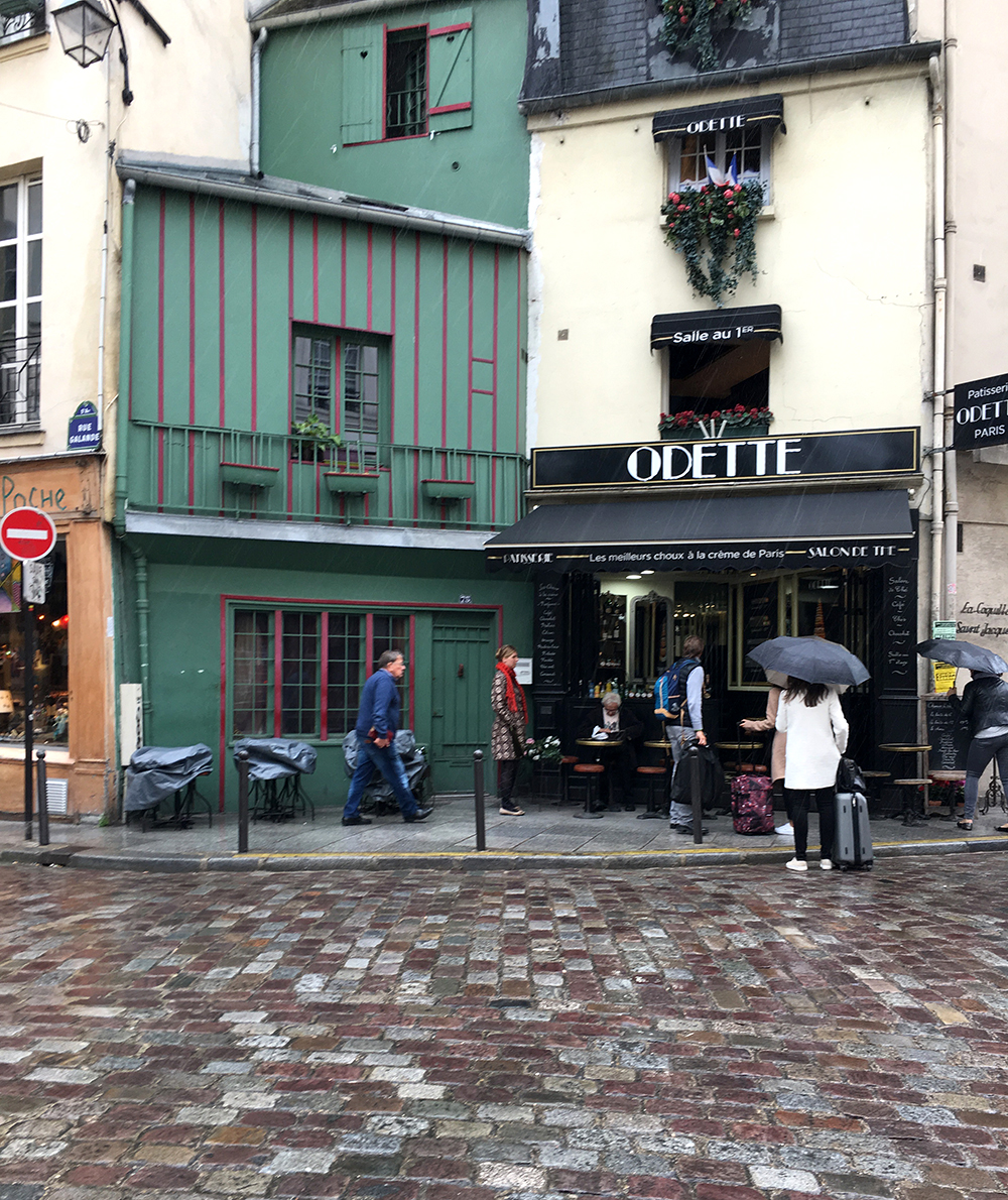 The latin quarter is so quirky and charming with cobbled streets and angled buildings.