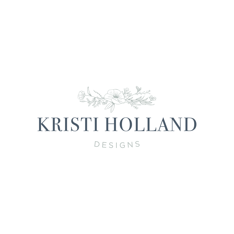 hayley bigham designs-tulsa graphic designer-Kristi Holland-Watercolor Artist-floral-logo design