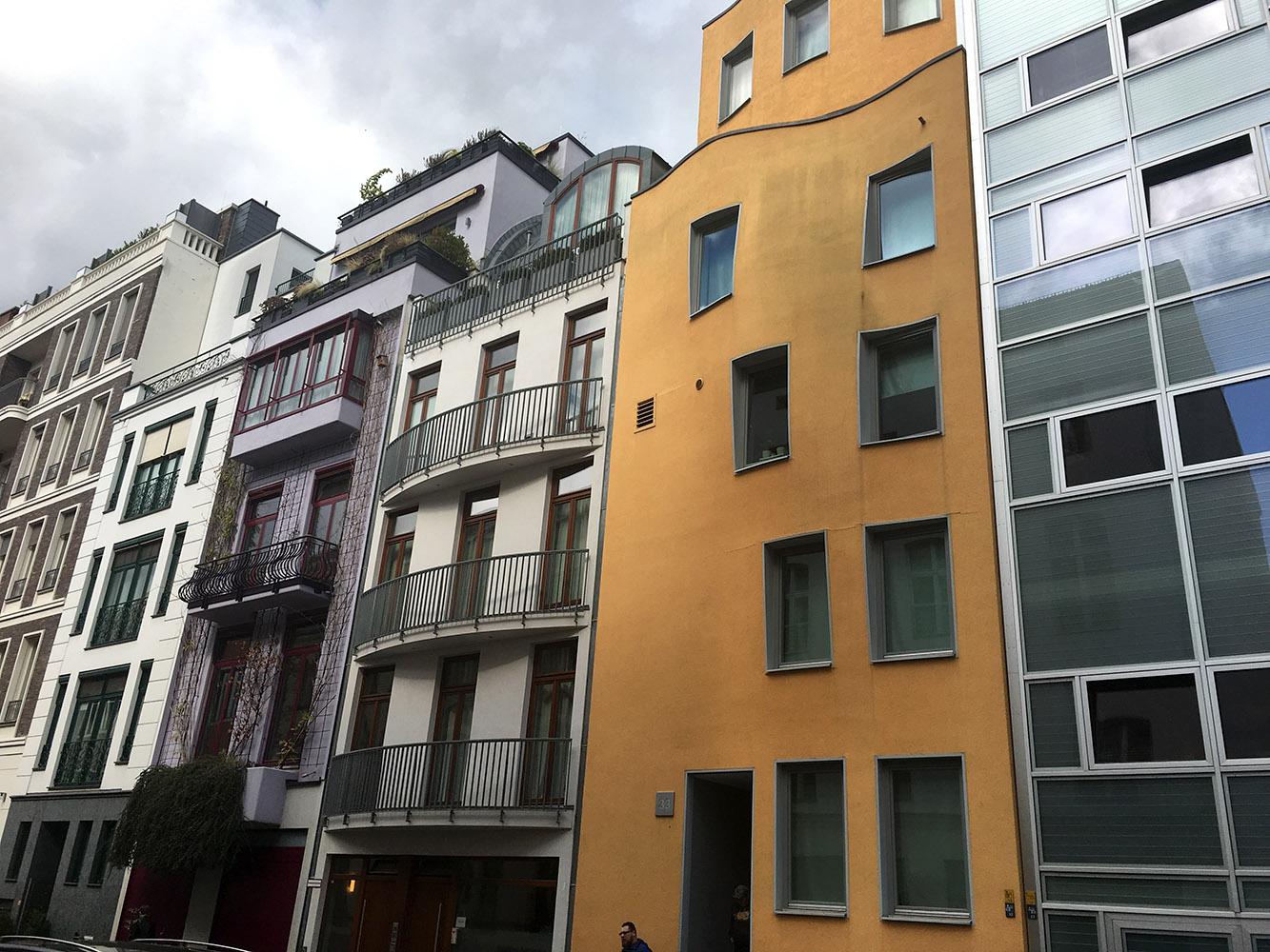 Some unique apartment buildings