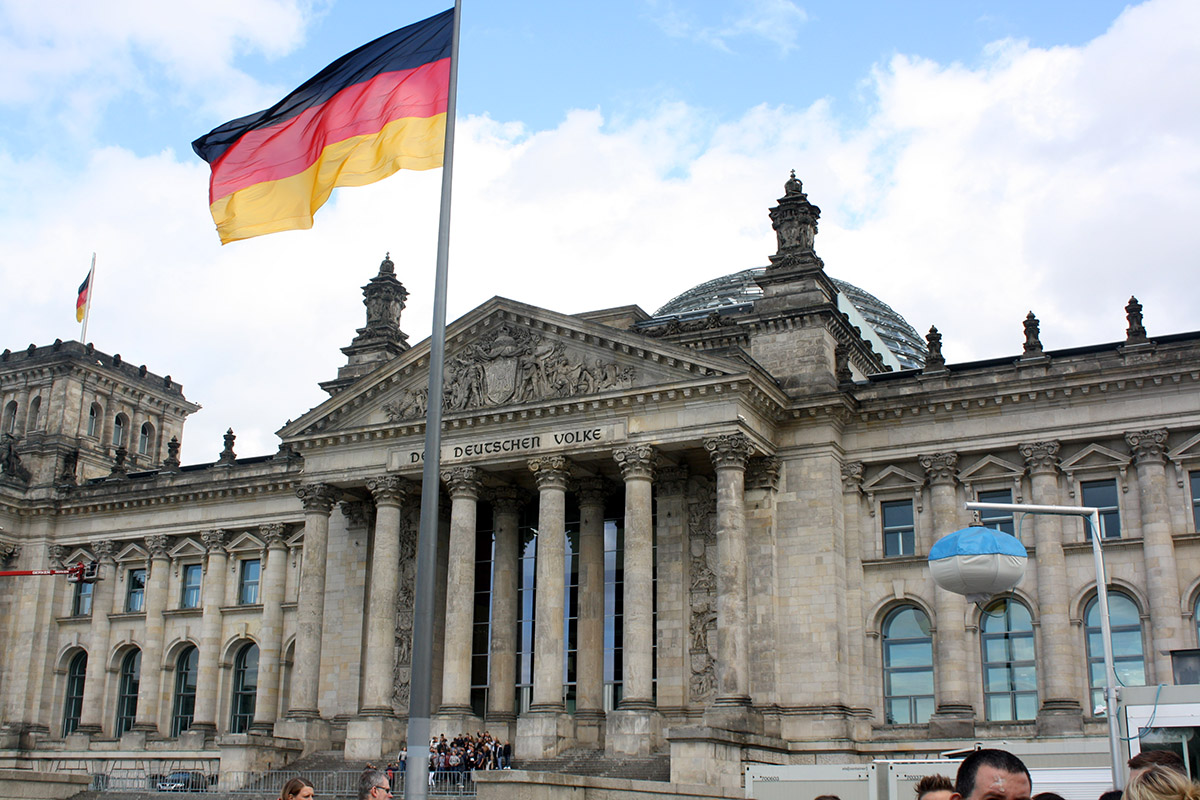 Reichstag Building - the Capital