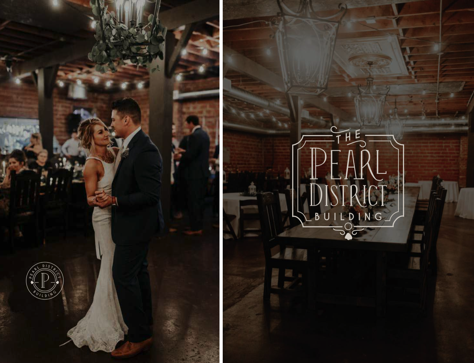 Pearl District Building-Tulsa-WeddingVenue-Branding