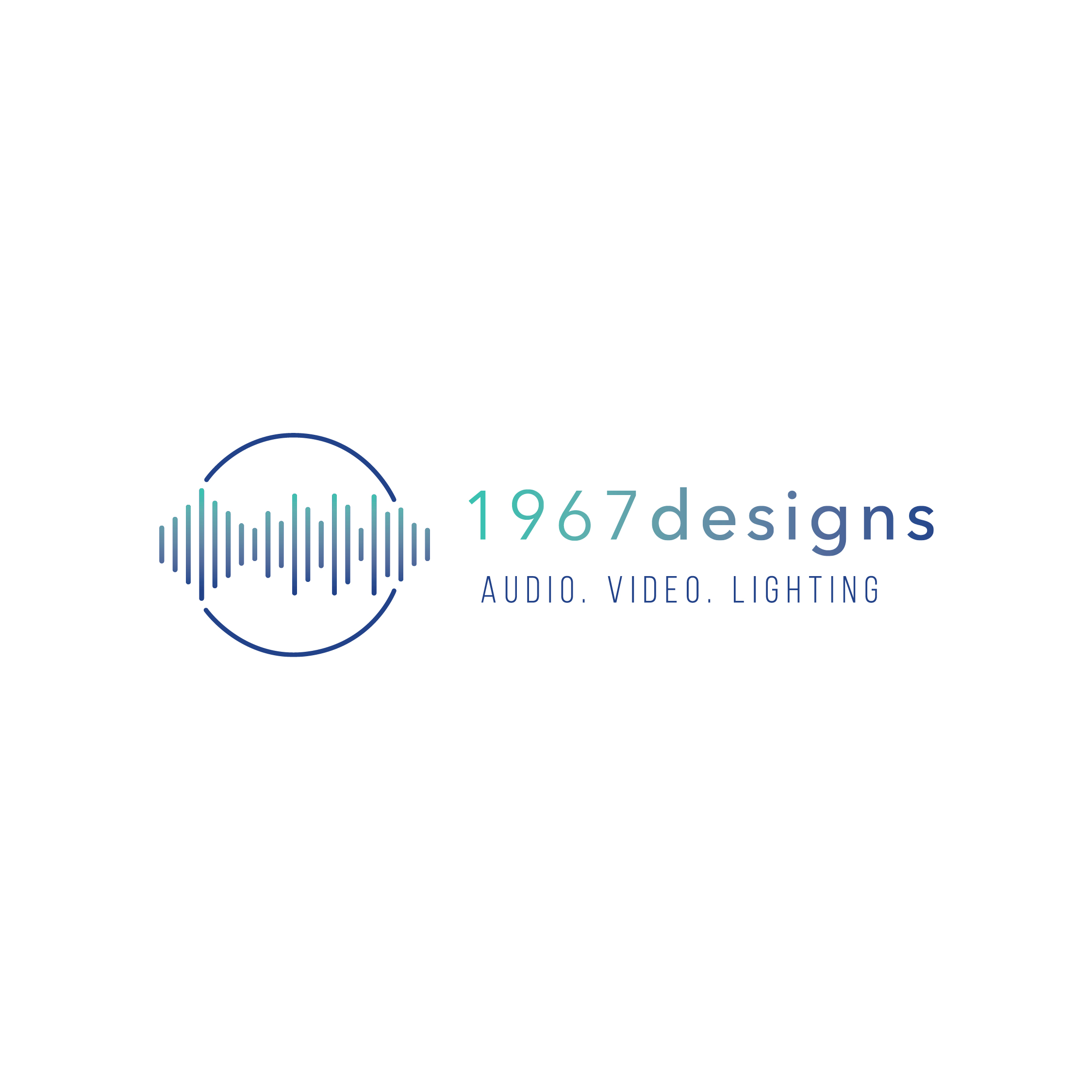 1967 Designs – production company – Hayley Bigham Designs – Tulsa Oklahoma Branding Studio – abstract modern logo