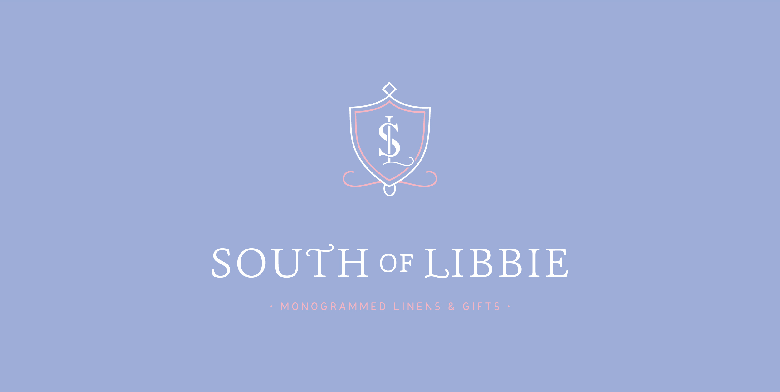 South of Libbie Branding – vintage inspired logo – Hayley Bigham Designs – Tulsa Branding Studio – monogrammed linen company