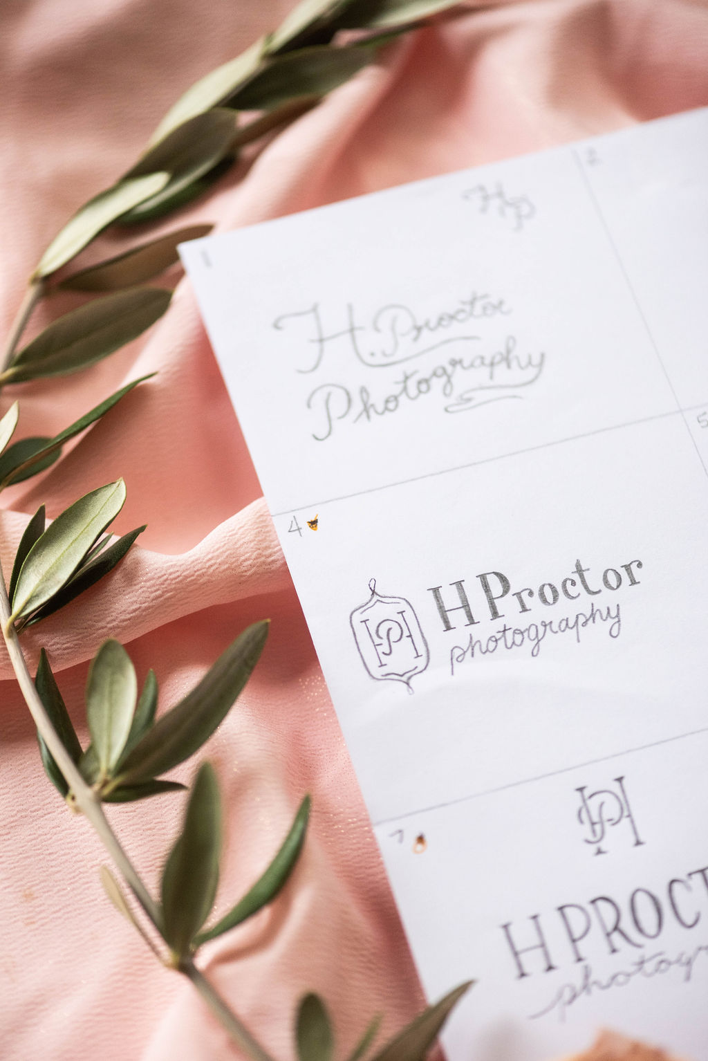 H Proctor Photographer – timeless romantic branding – Hayley Bigham Designs – Tulsa Oklahoma Branding Studio – professional monogram badge