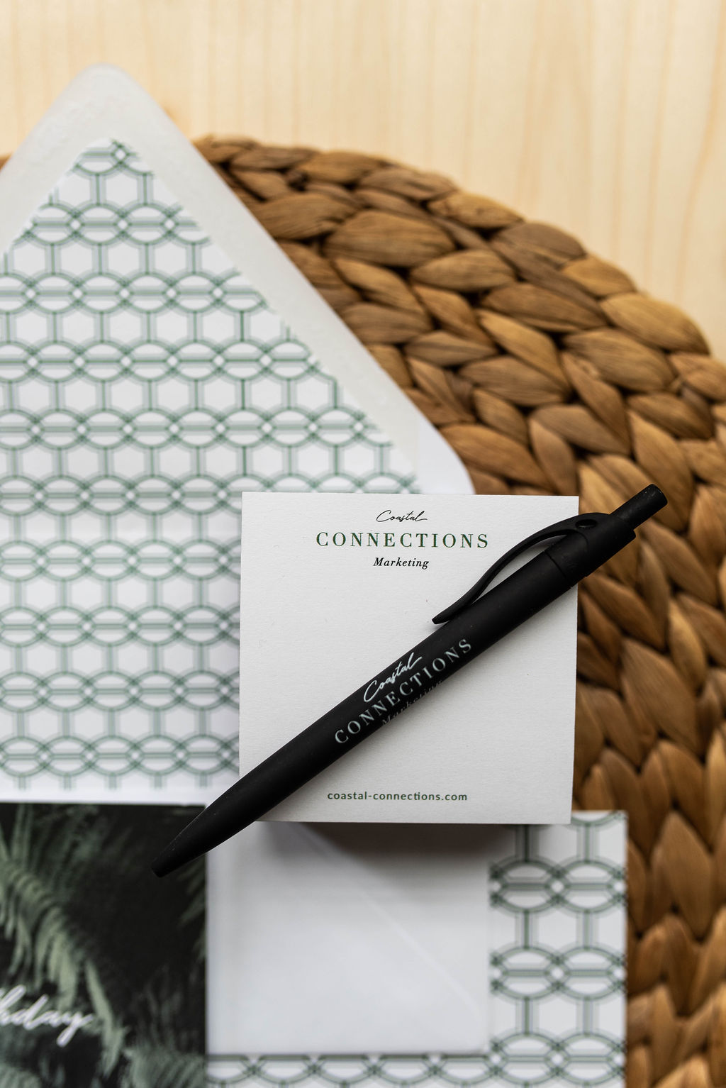 Coastal Connections Marketing – professional coastal branding – Hayley Bigham Designs – Tulsa Oklahoma Branding Studio – promotional product company