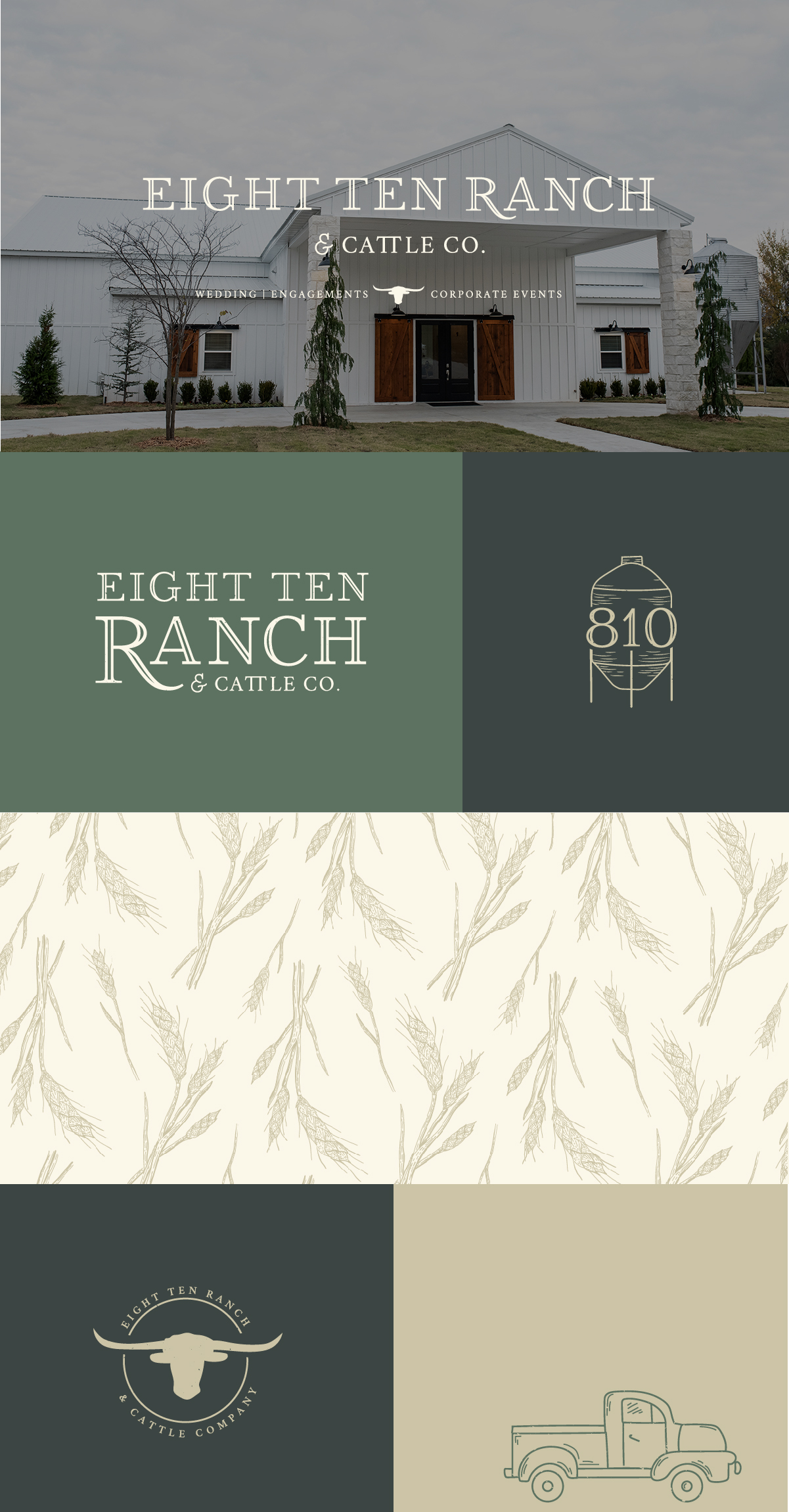 Eight Ten Ranch Branding - Hayley Bigham Designs - Tulsa Branding Studio  - Farmhouse Branding