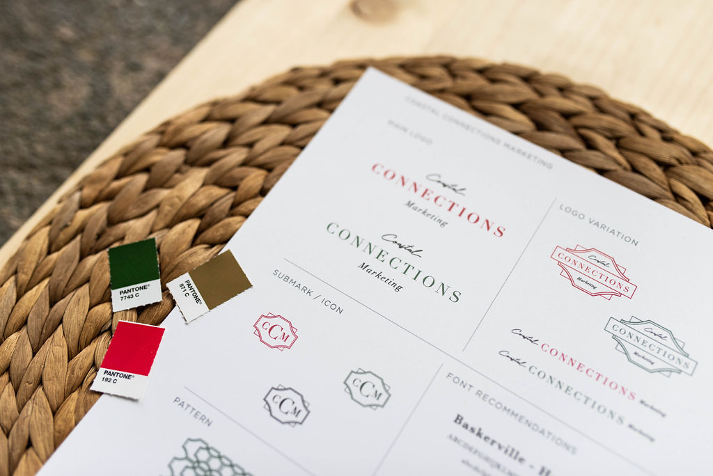 Coastal Connections marketing - Client Check In - branding and design by Hayley Bigham Designs - photo by Wendy Bobarikin