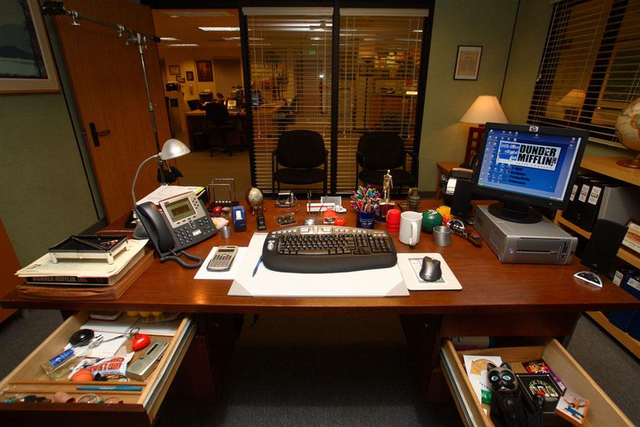 Branch Manager's (Michael Scott's) Desk