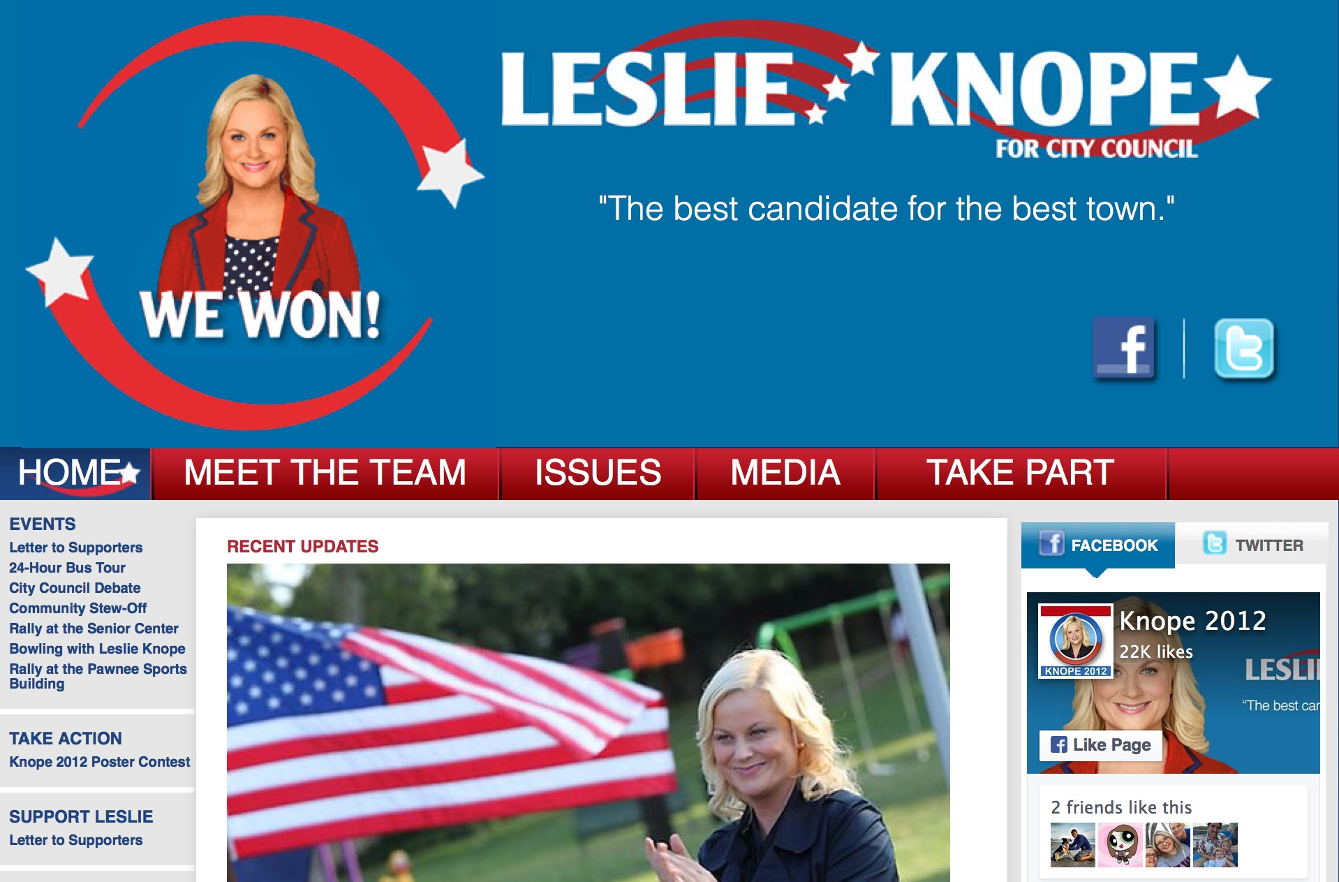 Knope 2012 | 360 Campaign
