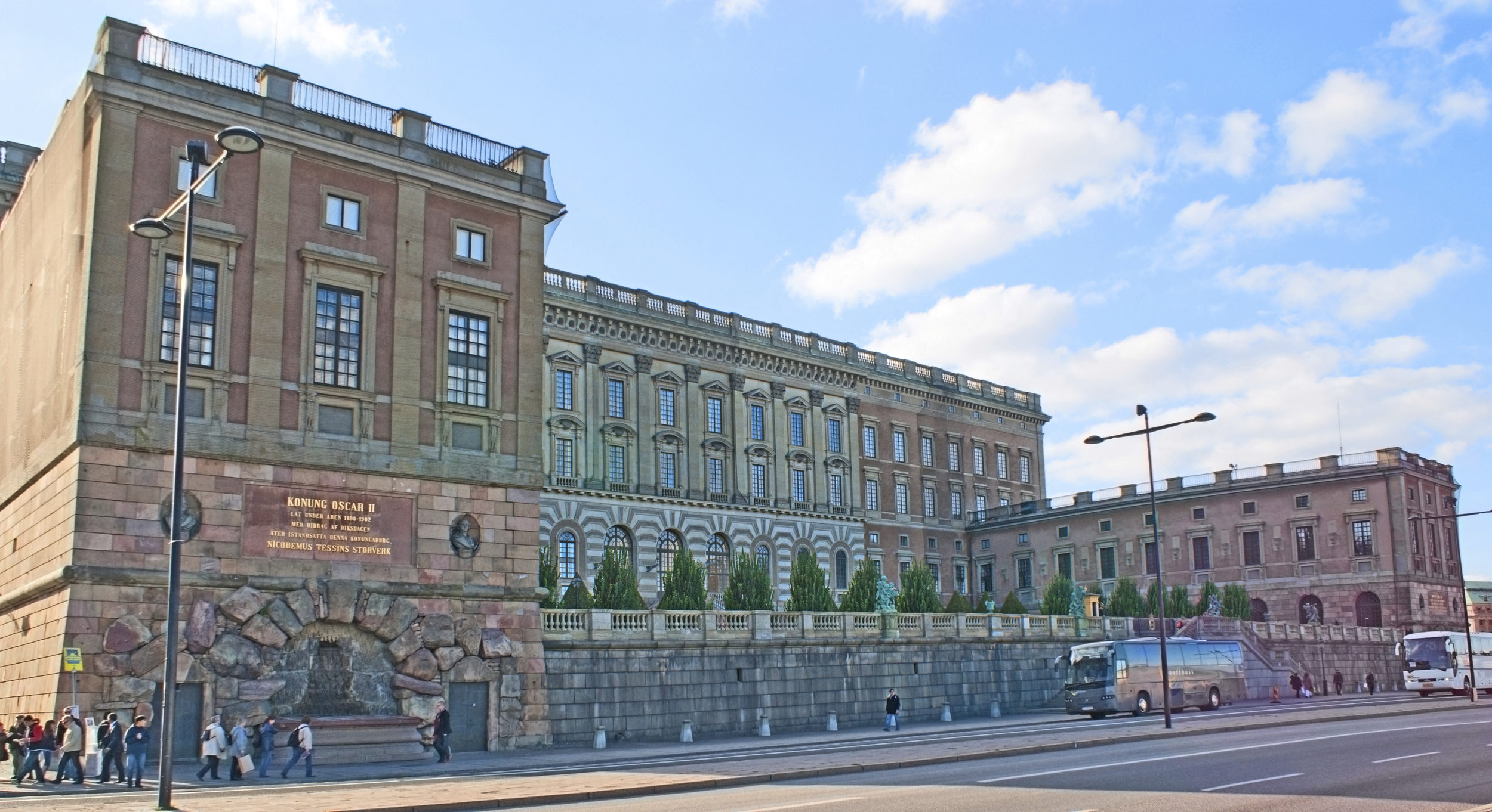 Stockholm Royal Palace is just around the corner.