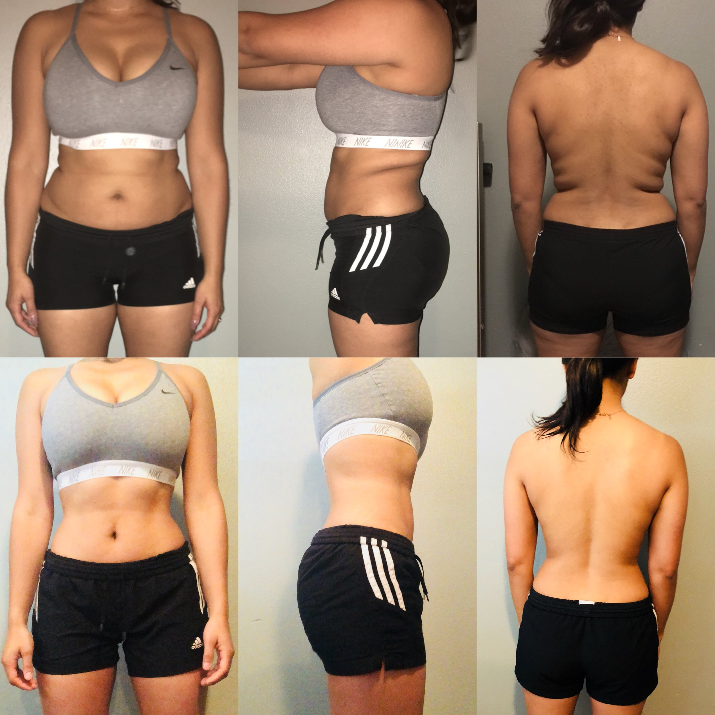 3 Month Dieting - I've know Hefci for many years, so I was happy when she reached out to me for help with her diet. She had a bad history of eating junk food, hot cheetos, pizza, tacos. I put her on a strict diet program and she dropped weight fast.