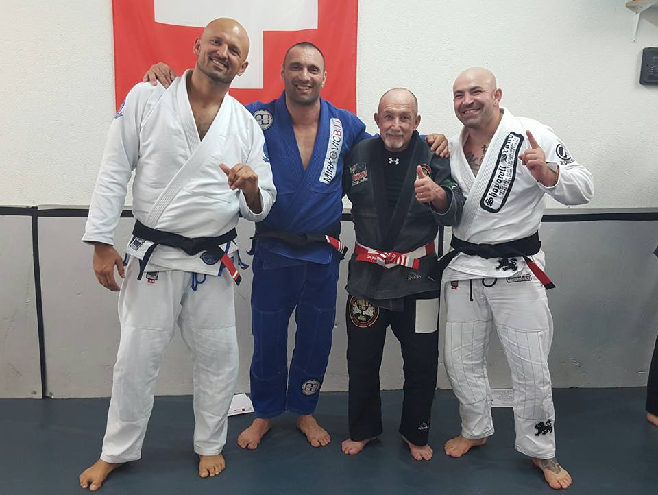 Master Ricardo Murgel with his Eastern European Black Belts