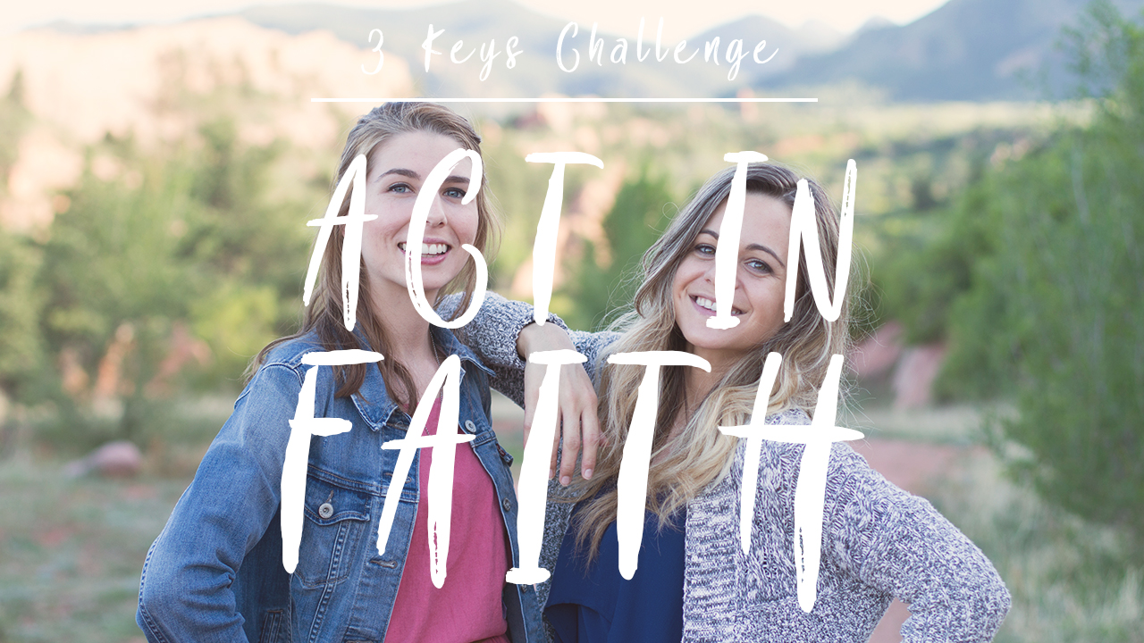 How to Act in Faith // Winning the Battle in Your Mind // Overcome Negative Thinking // Christian Girl Advice