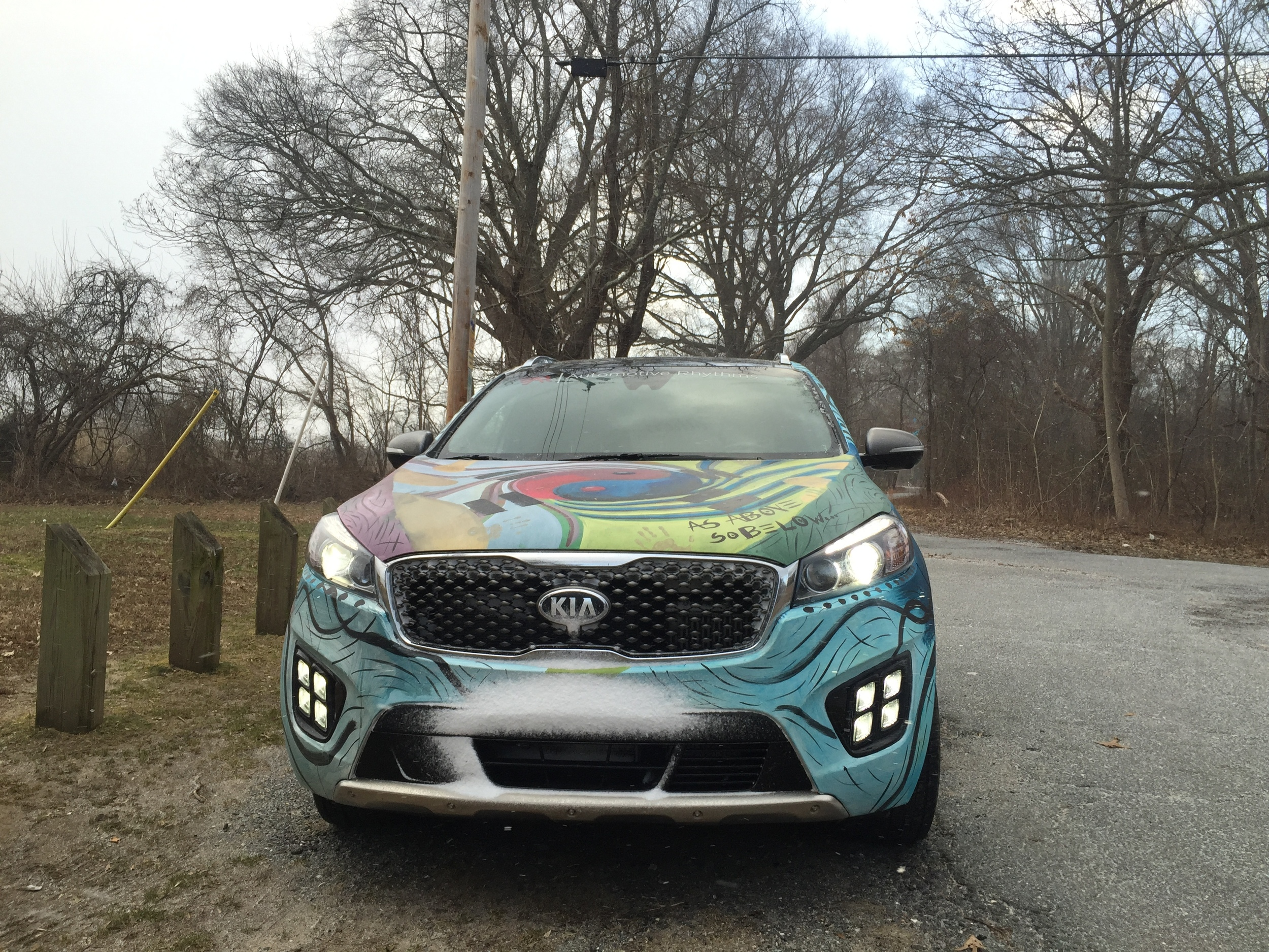 Kia Sorento Art Car - Southern Maryland