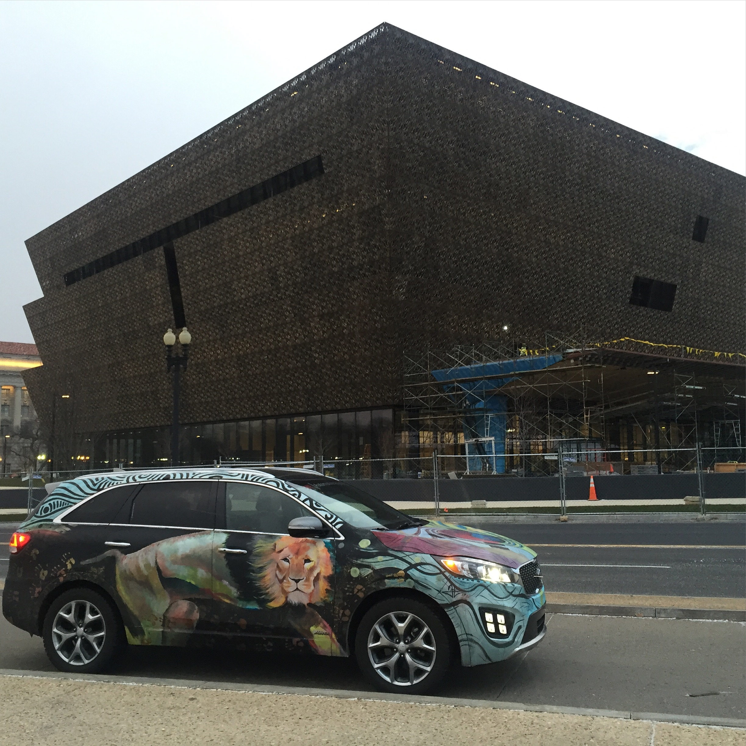 Kia Sorento Art Car - National Museum of African American History and Culture
