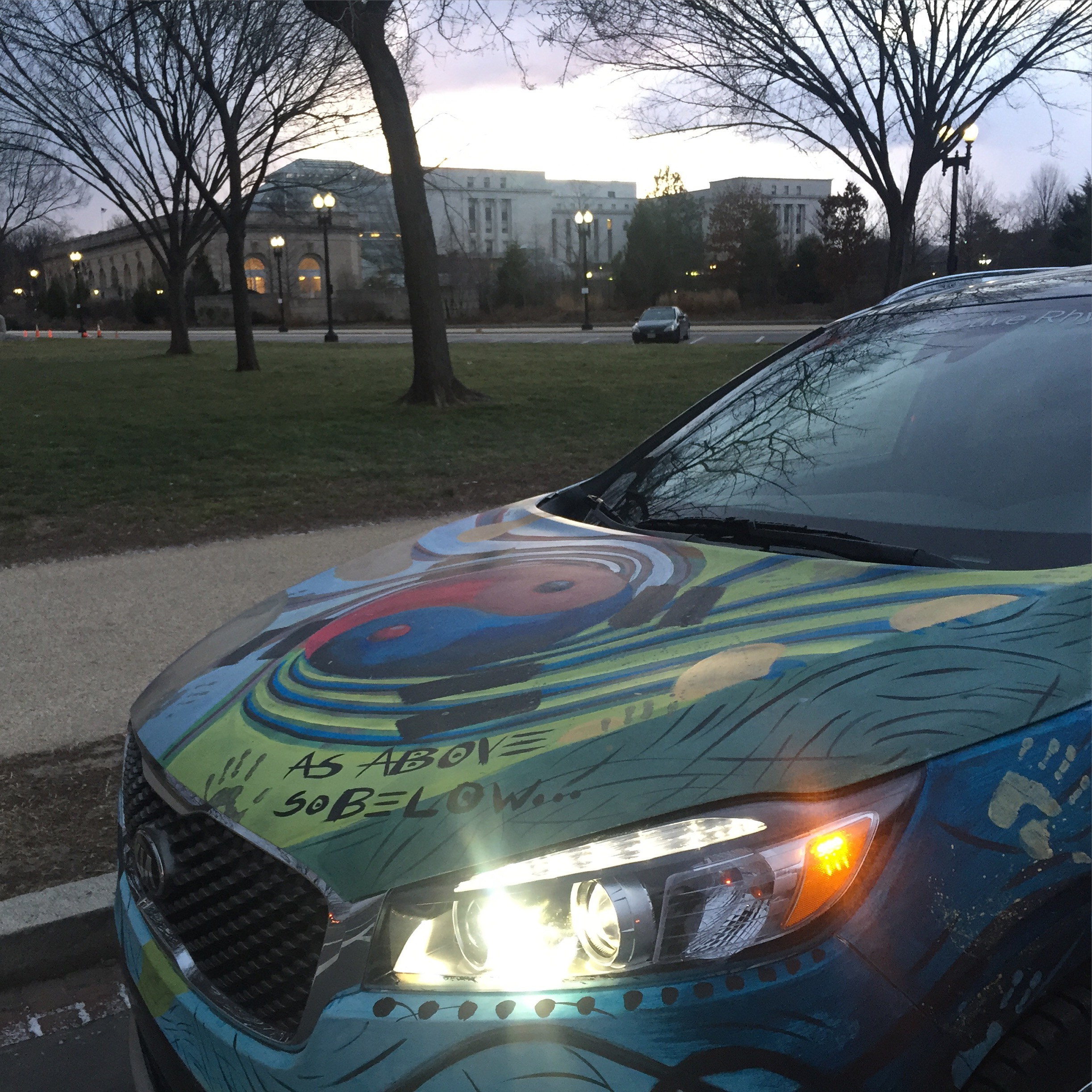 Kia Sorento Art Car - National Mall