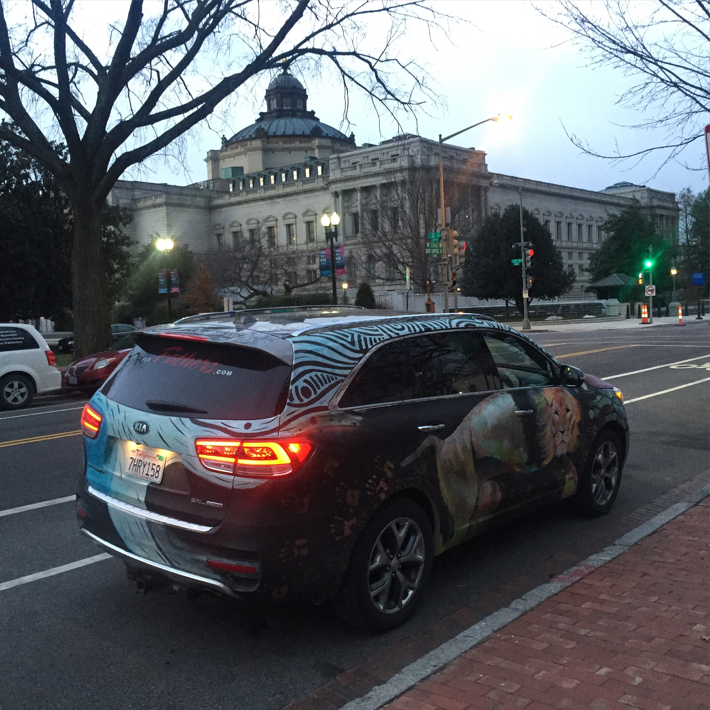 Kia Sorento Art Car - Library of Congress