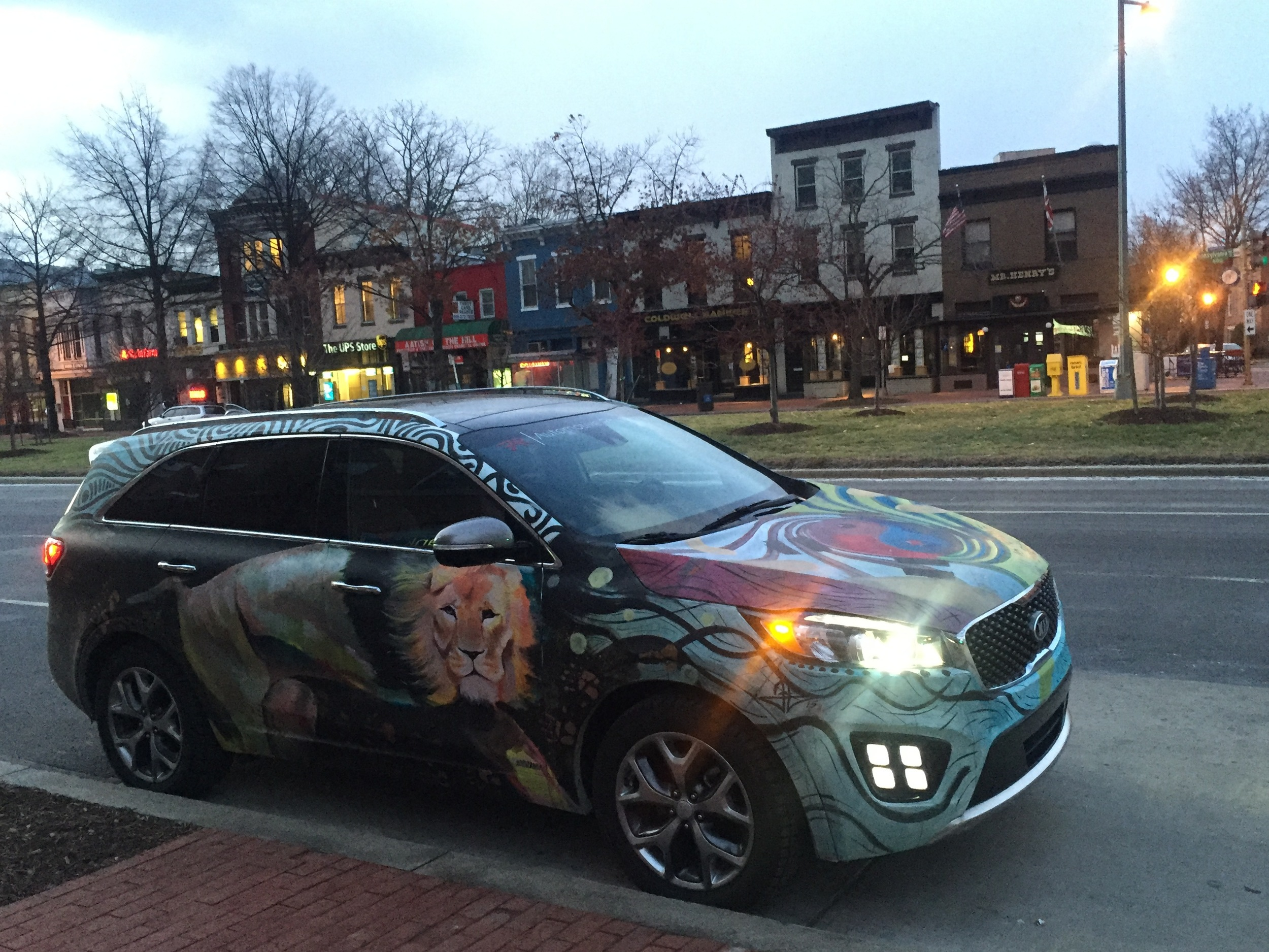 Kia Sorento Art Car - Mr Henry's