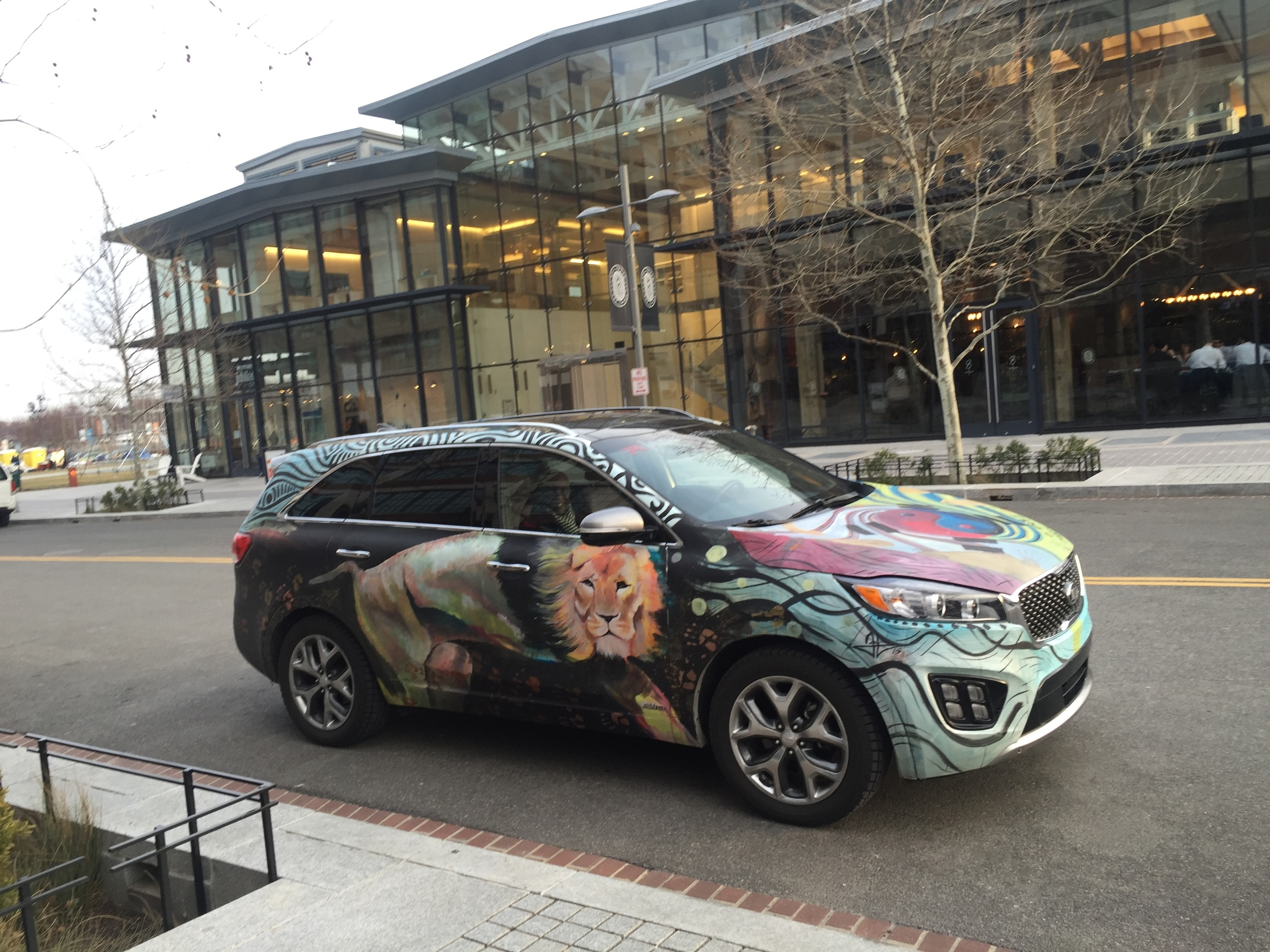 Kia Sorento Art Car - The Yards