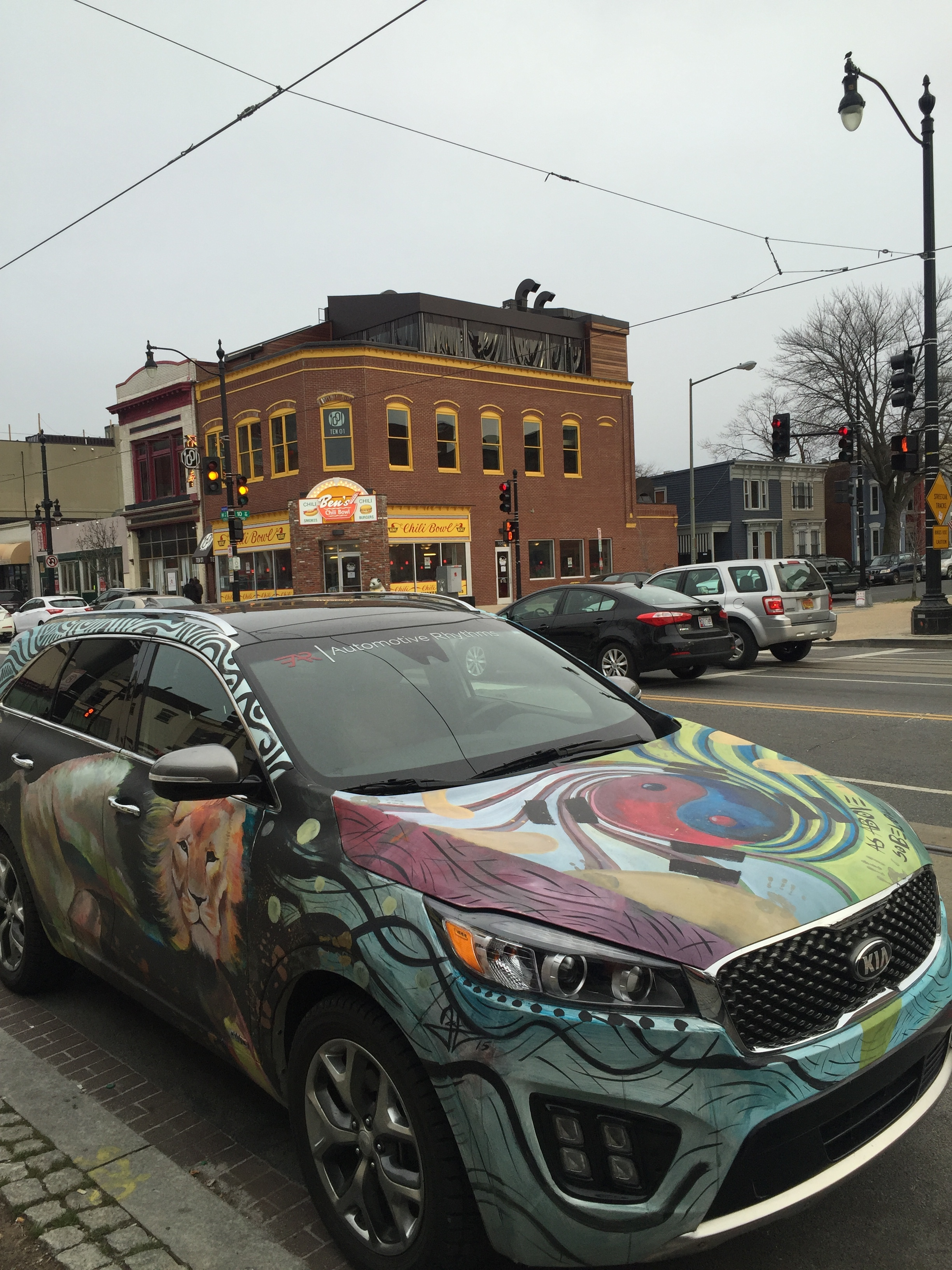 Kia Sorento Art Car - Ben's Chili Bowl