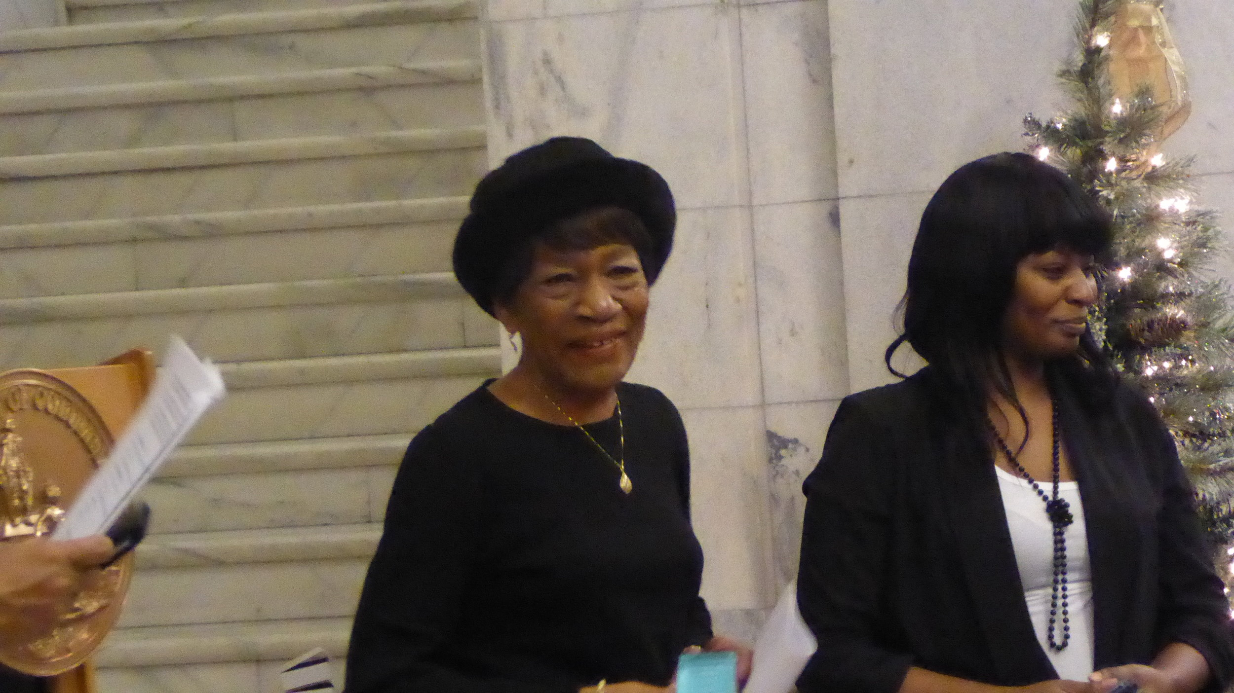 Commissioner Mary J. Cuthbert, Elected Representative and Community Leader