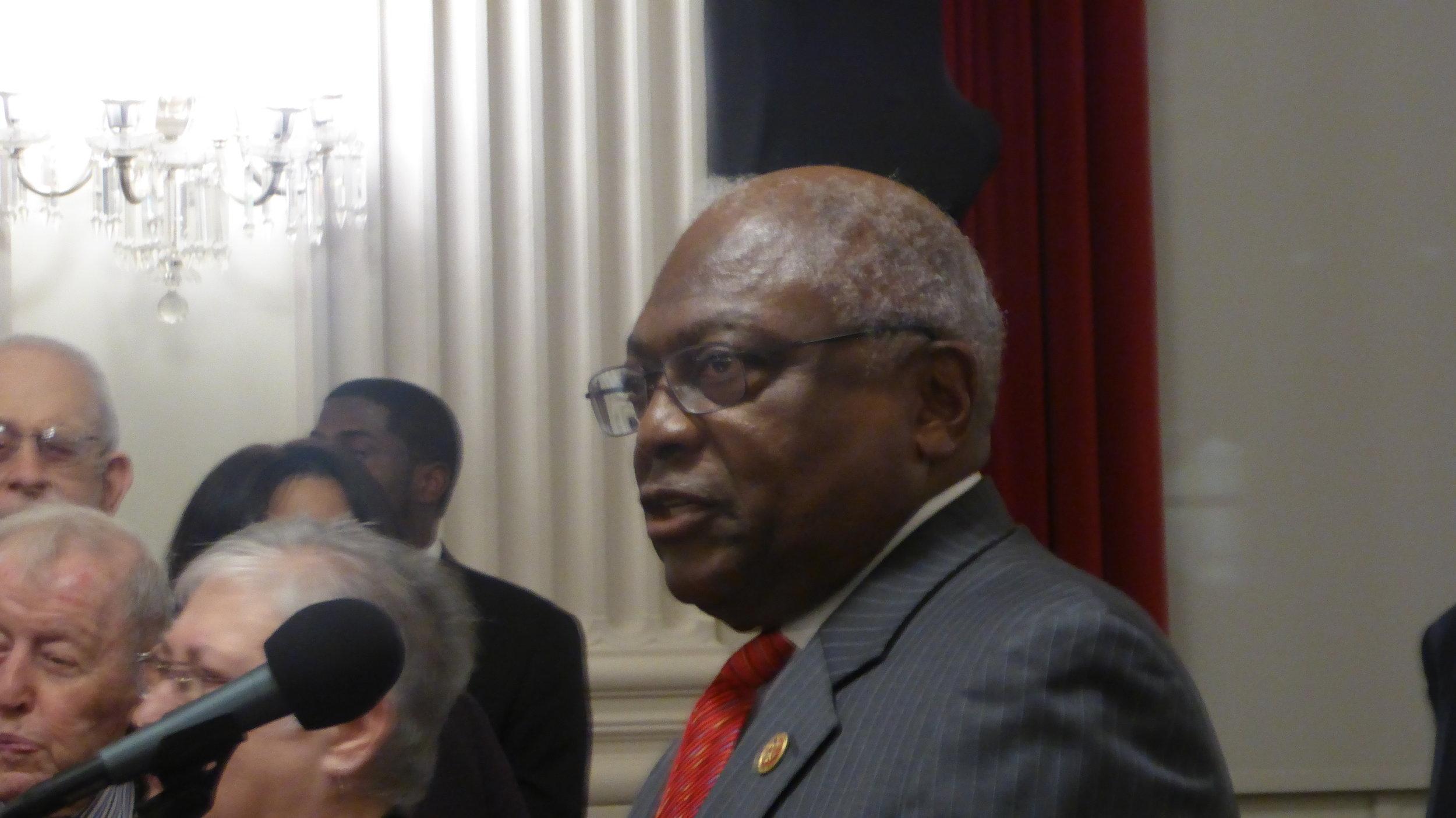 House Assistant Democratic Leader James Clyburn (D) South Carolina