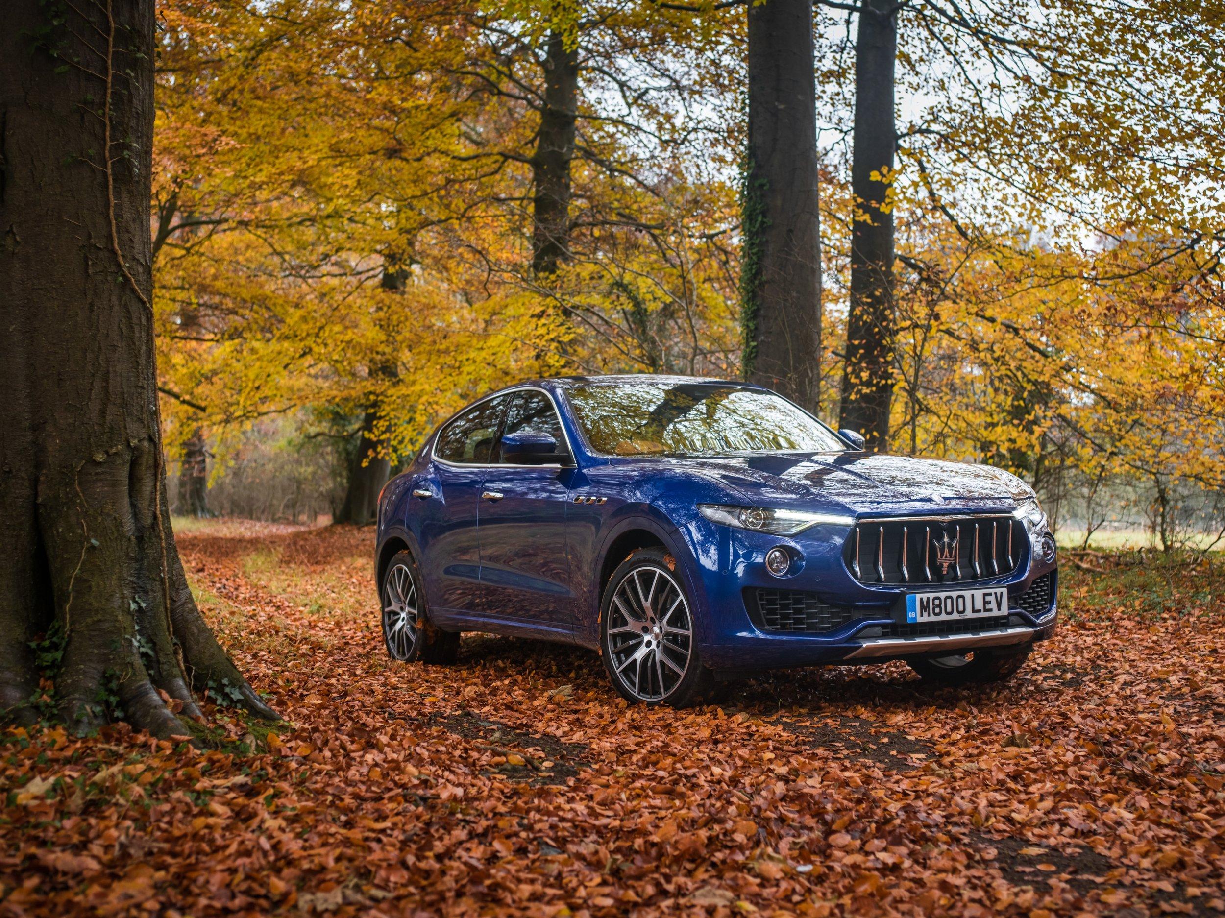 2017 Maserati Levante, Photo courtesy of Fiat Chrysler Automobiles