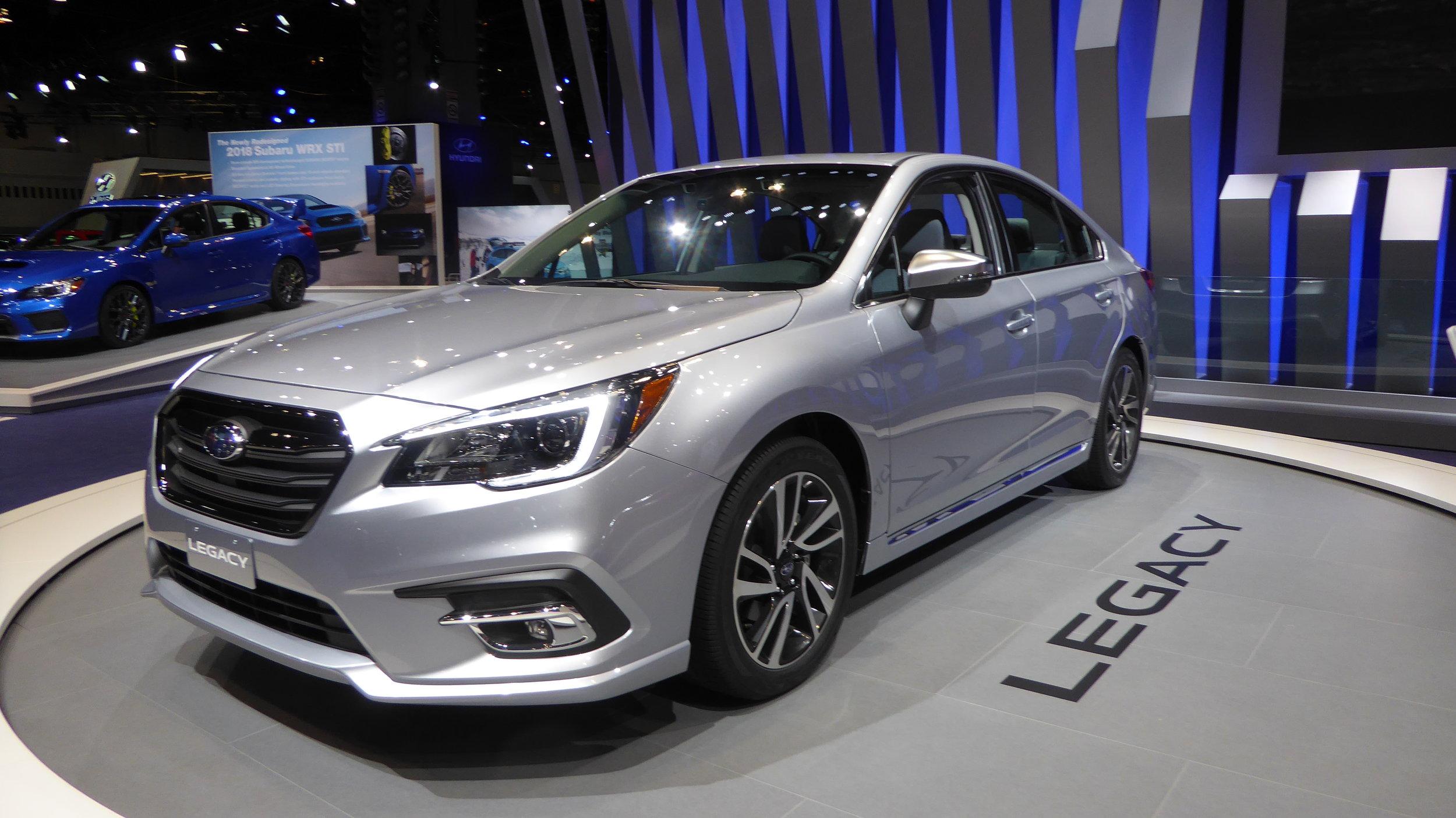 2018 Subaru Legacy    Photo Courtesy of Marvin Bowser