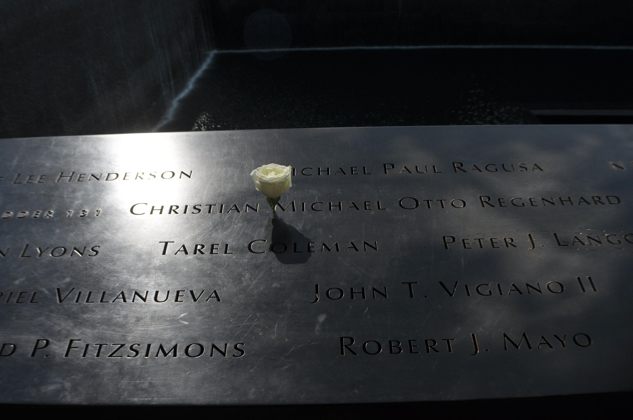 In memory of Christian Michael