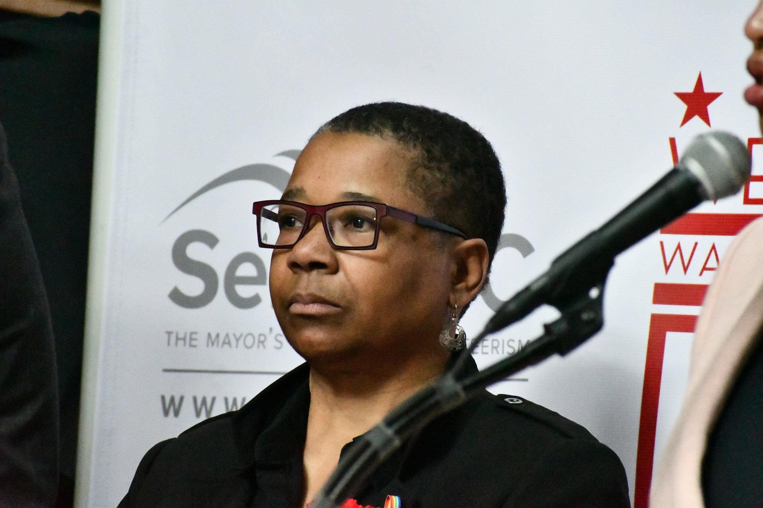 Sheila Alexander-Reid Director, Mayors Office of LGBT Affairs