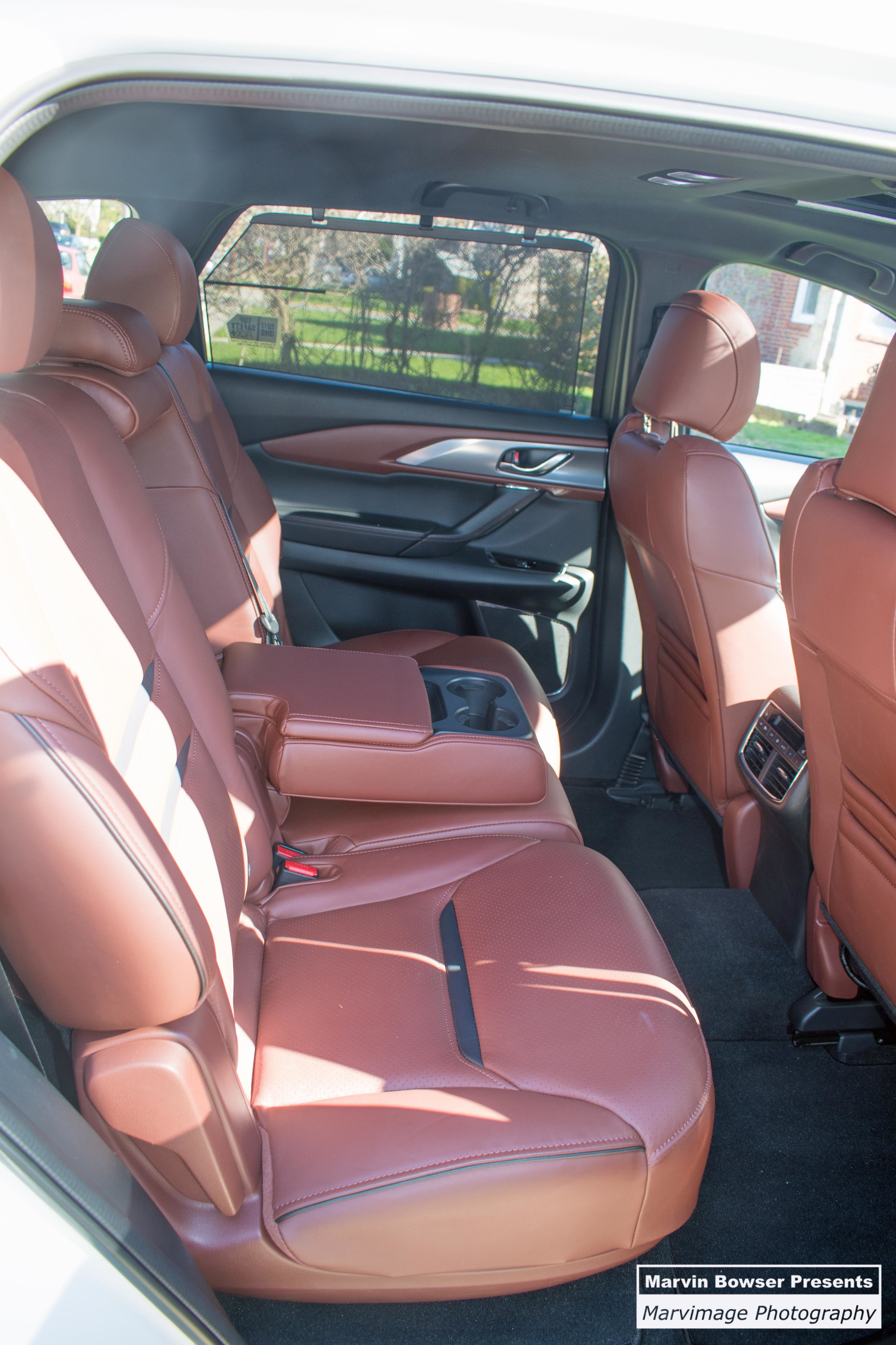 CX-9 Middle Seats, heated, recline and slide forward/aft