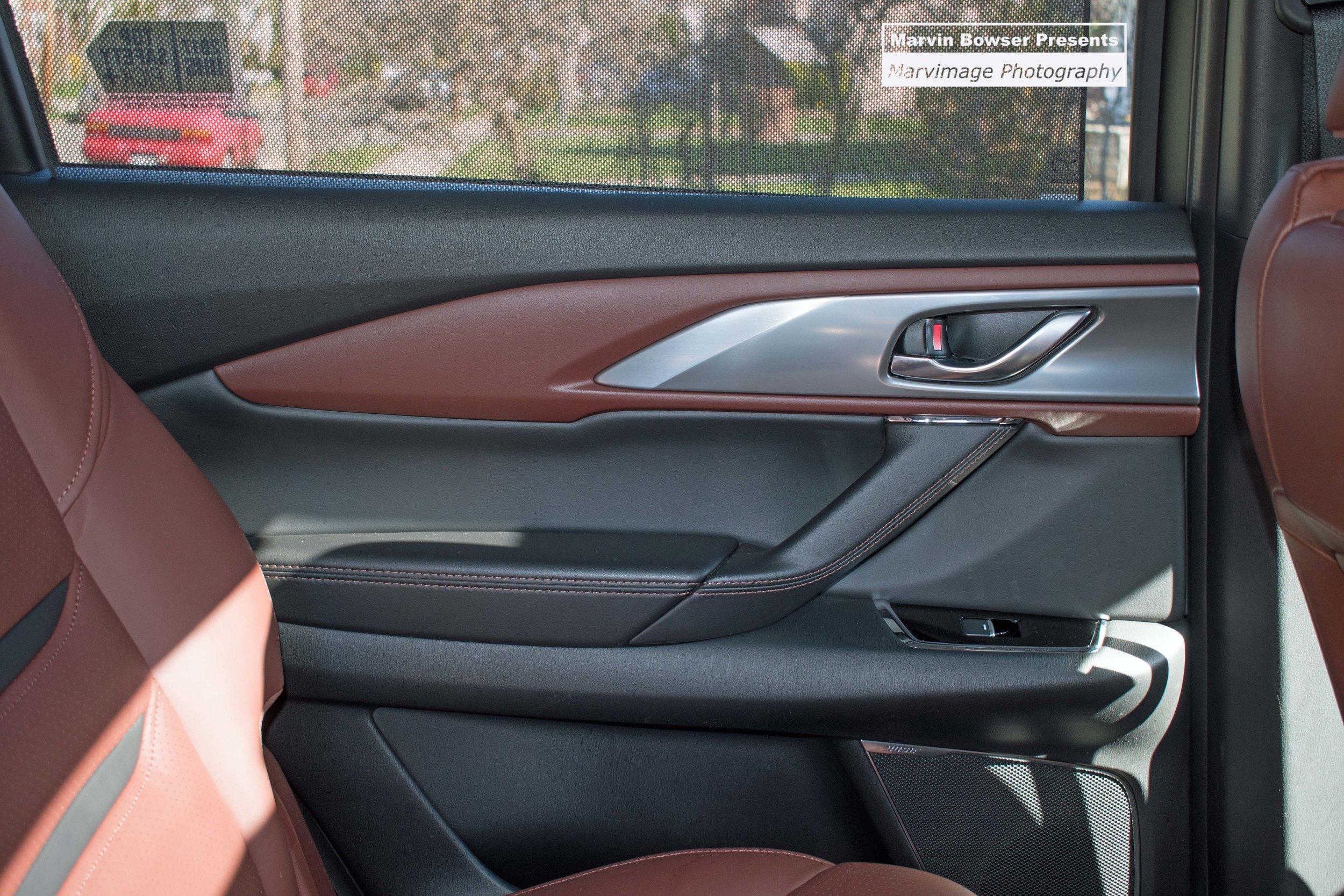 Passenger Door, privacy glass, sun shade