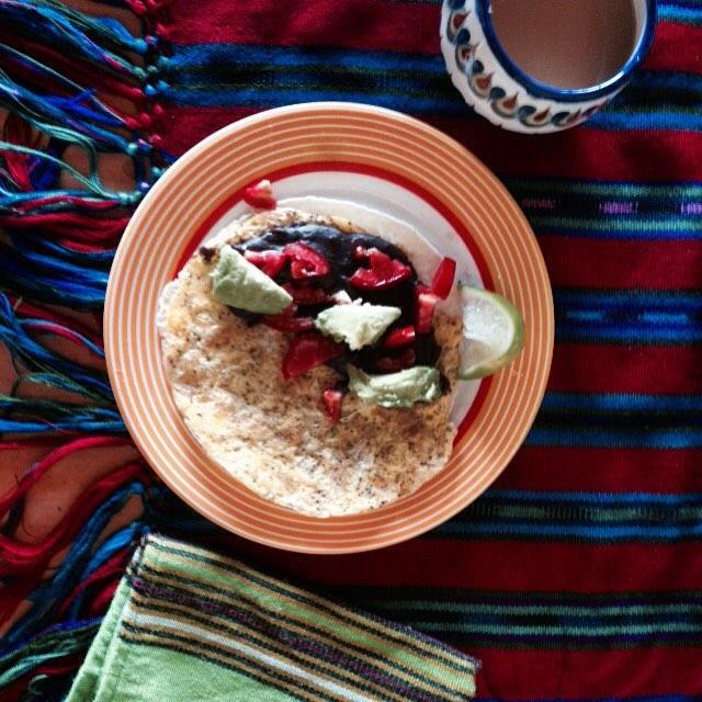 Delicious Guatemalan breakfasts