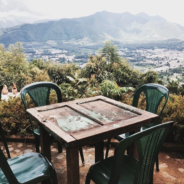Overlooking Antigua