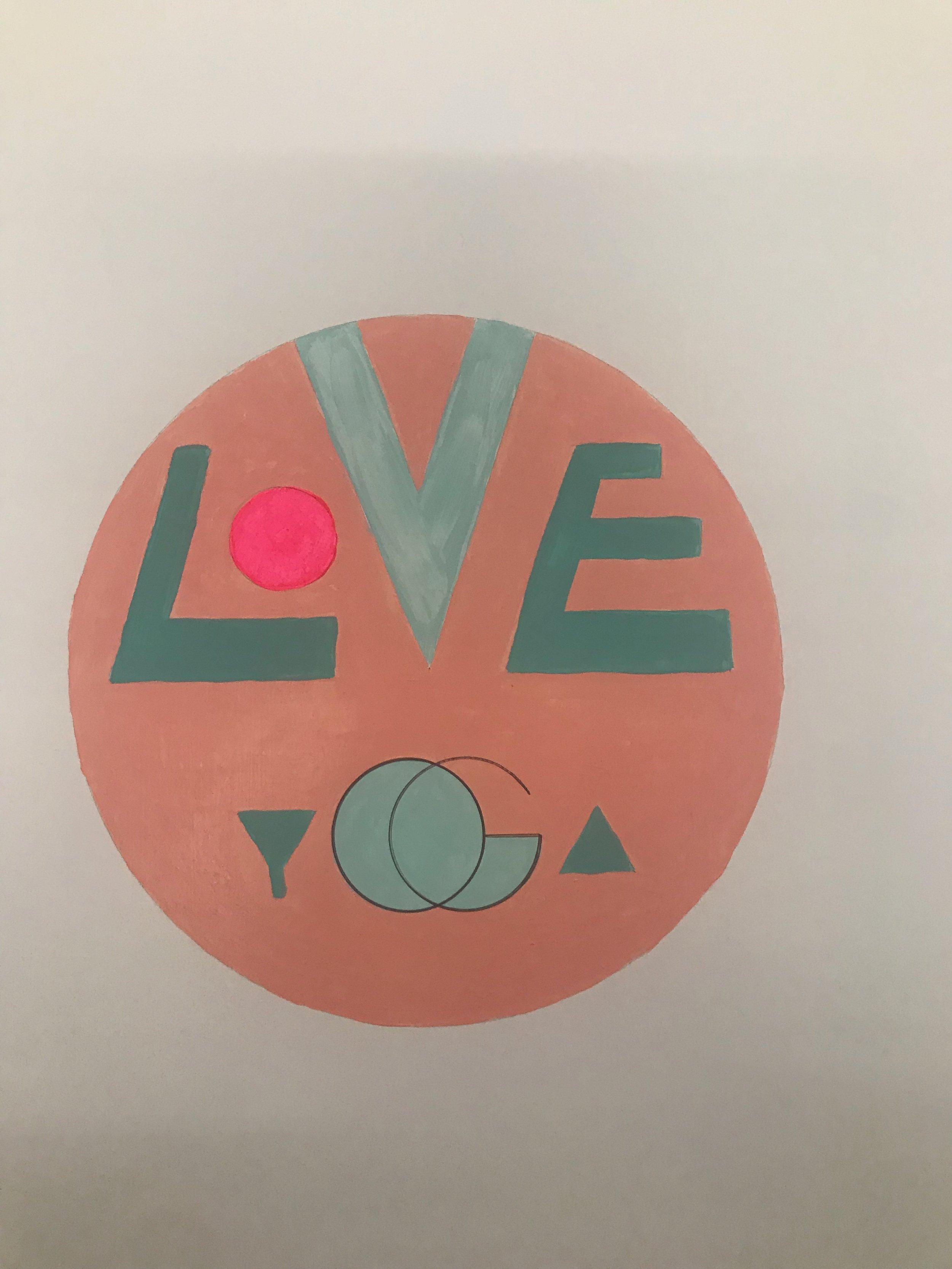 the Love yoga studio in Echo Park