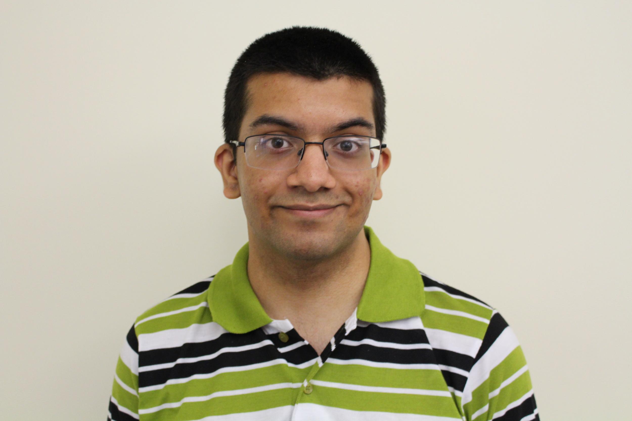 Pranav Padmanabhan , Mentor  Pranav is currently a freshman at   Ohio State University   .