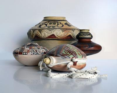 Hopi Pottery Masterworks Image courtesy: Scottsdale's Museum of The West Photo by: Bill Dambrova