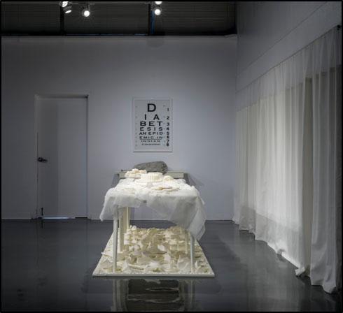 Last Supper exhibition still by C. Maxx Stevens