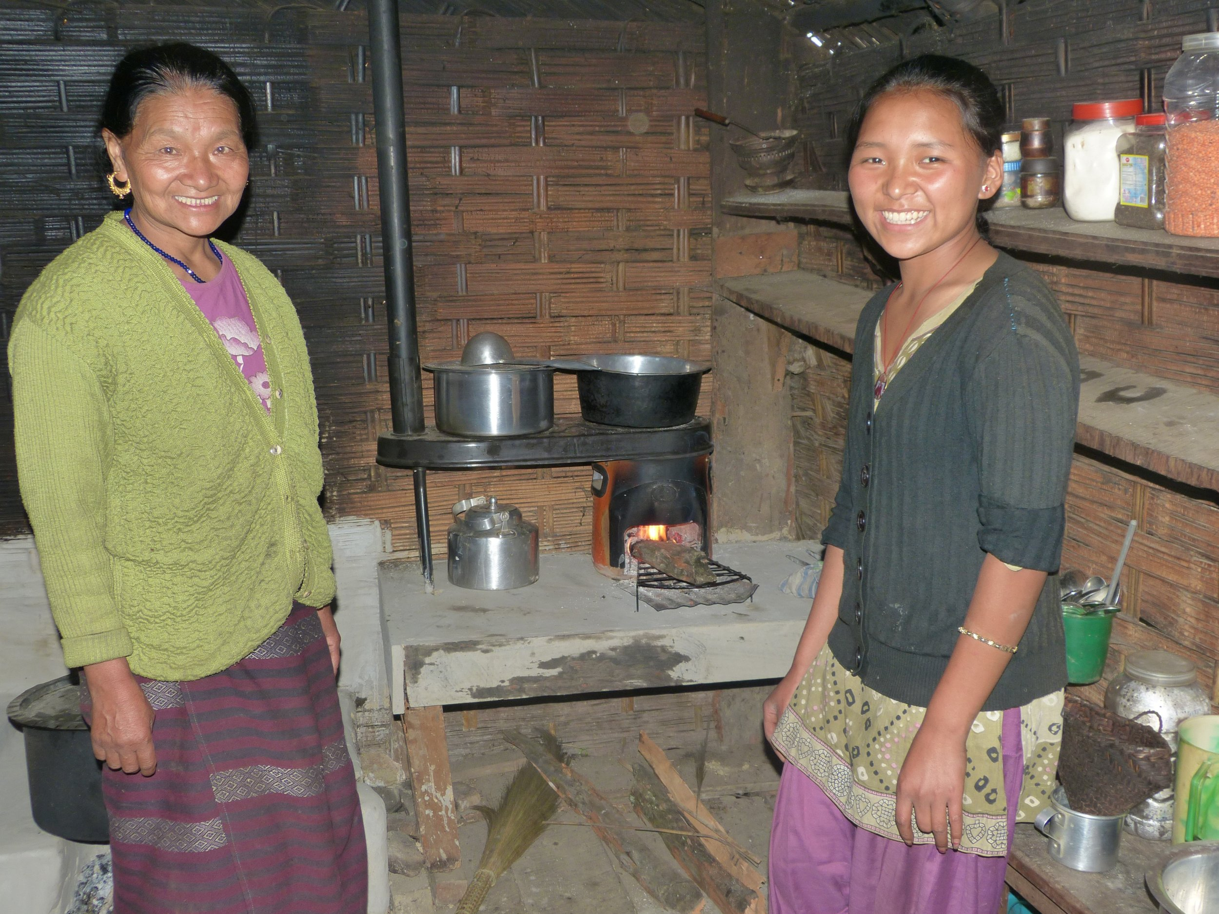 Recipients of the Himalayan Stove Project