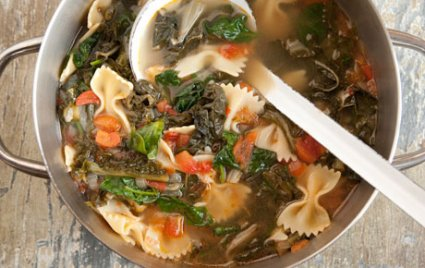hearty greens soup