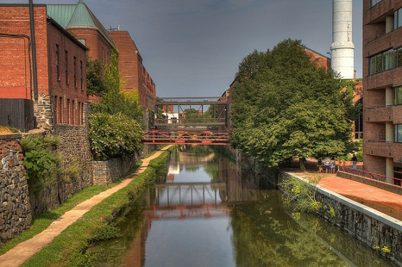 C&O Canal in Georgetown