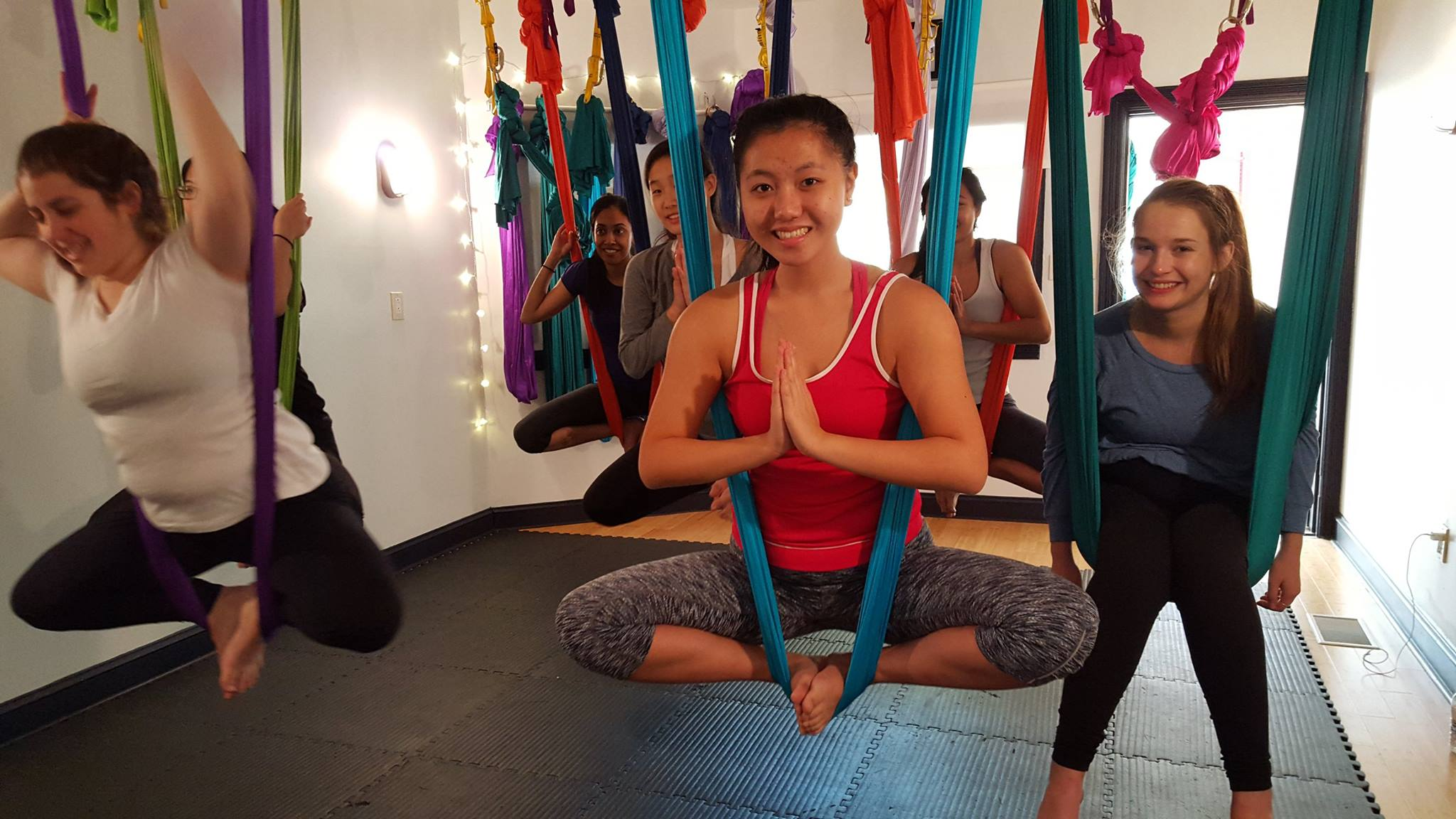 Photo via Kaya Aerial Yoga