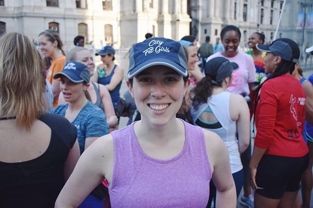 Happy Monday from @rbhotshot, Philly's run club co-leader! 👋🏼☺️