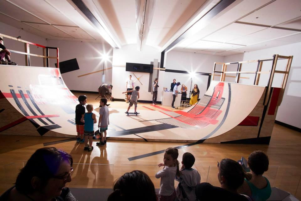 'Immaterial Labour (Skate dish prounspace #2014): Pat Hoffie' Jun. - Aug. 2014